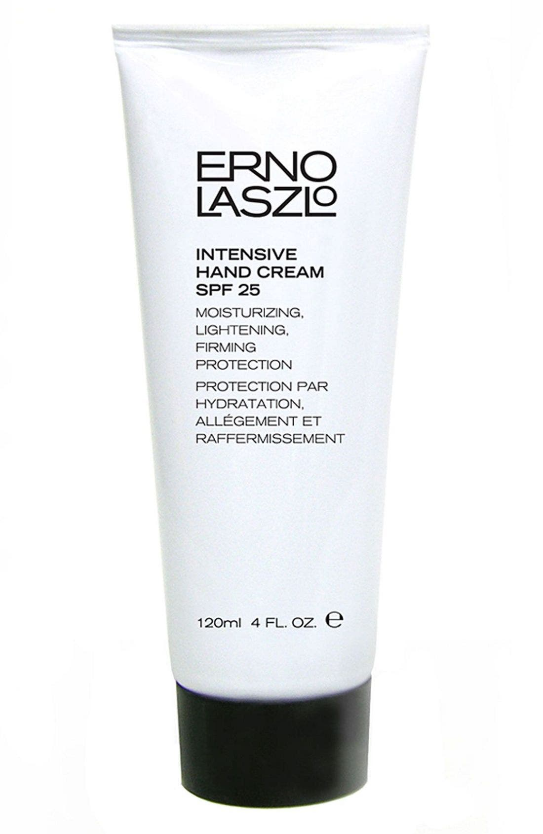 Intensive Hand Cream SPF 25,                             Main thumbnail 1, color,                             000