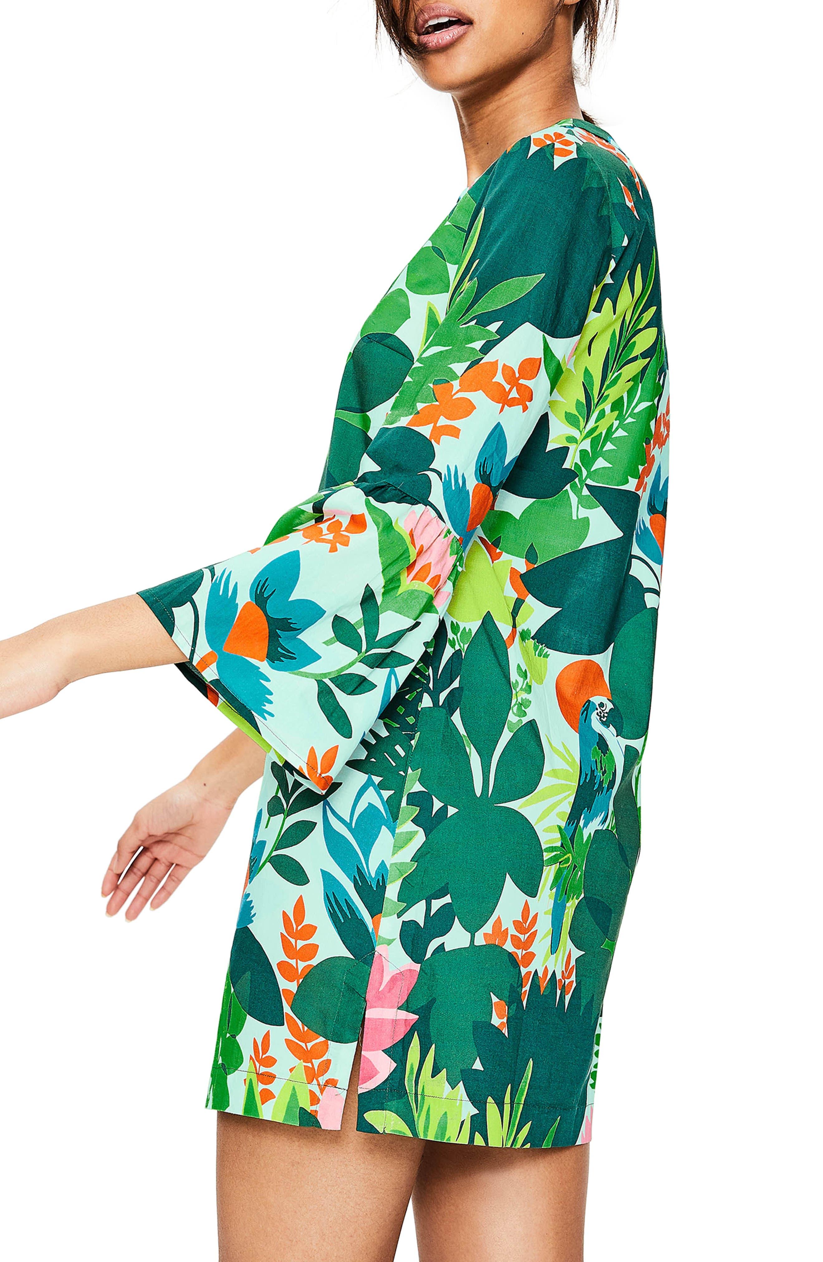 Jodie Caftan Dress,                             Alternate thumbnail 3, color,                             391