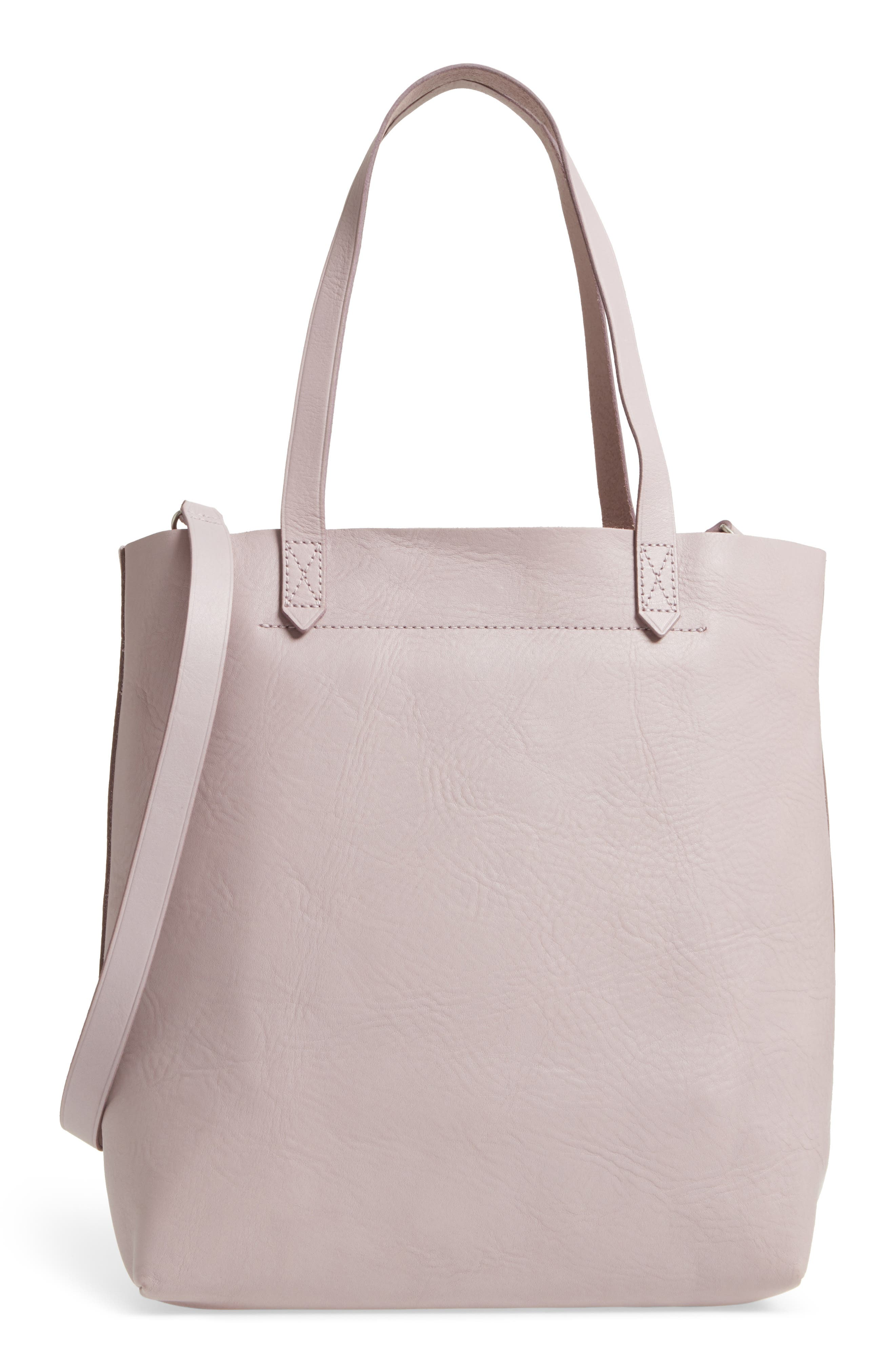 Medium Leather Transport Tote,                             Main thumbnail 6, color,