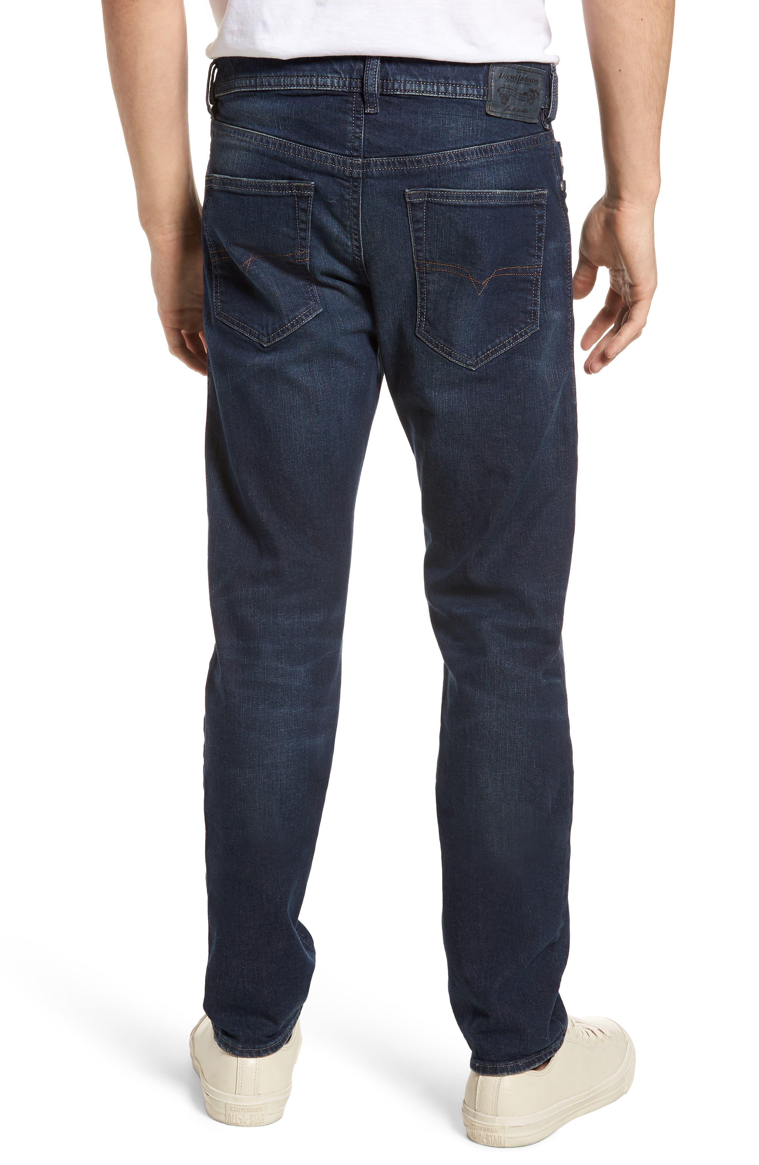 Buster Slim Straight Leg Jeans,                             Alternate thumbnail 2, color,                             BLUE