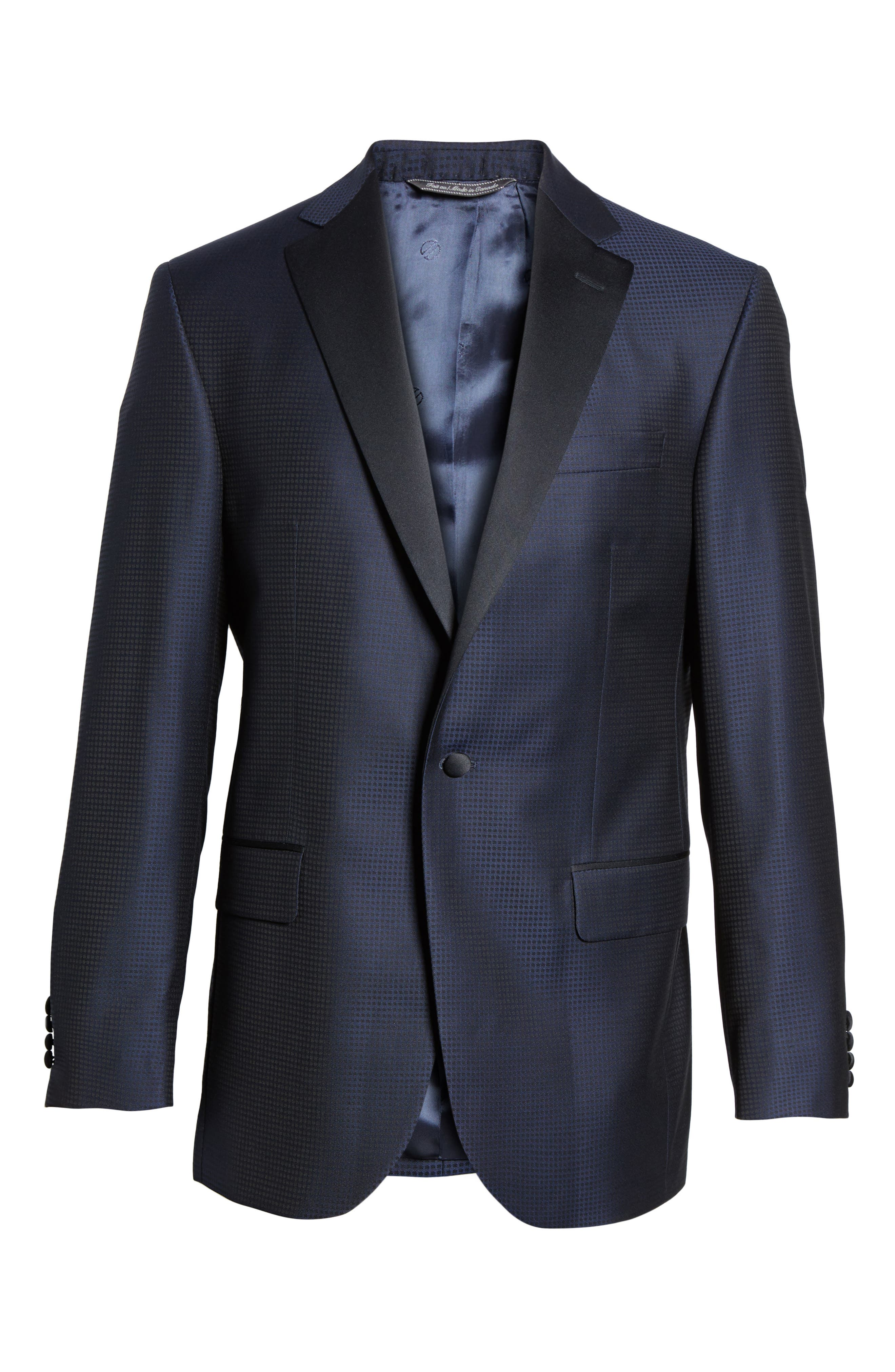 Reed Classic Fit Wool Dinner Jacket,                             Alternate thumbnail 5, color,