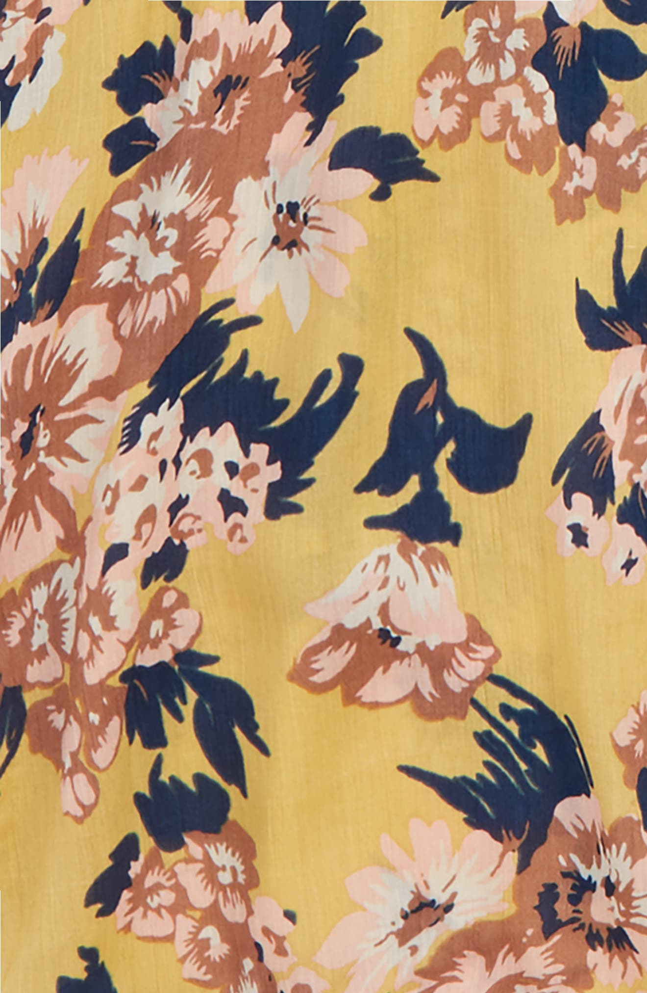 Floral Kimono,                             Alternate thumbnail 2, color,                             YELLOW