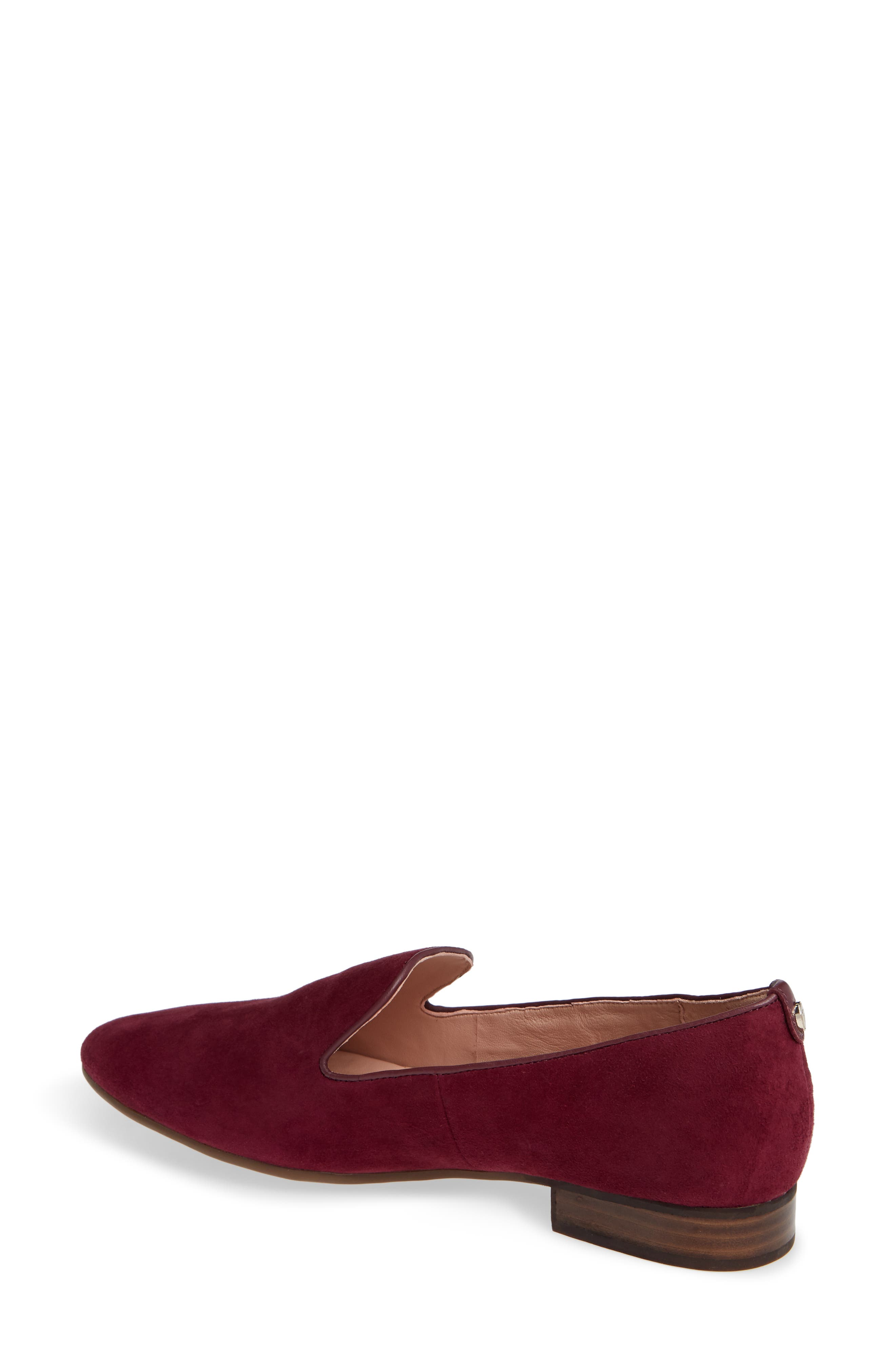 TARYN ROSE,                             Bryanna Loafer,                             Alternate thumbnail 2, color,                             FIG SUEDE