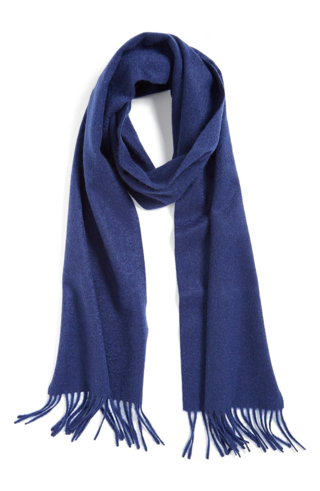 Solid Woven Cashmere Scarf,                             Main thumbnail 8, color,
