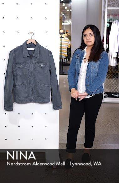 Zip Denim Jacket, sales video thumbnail