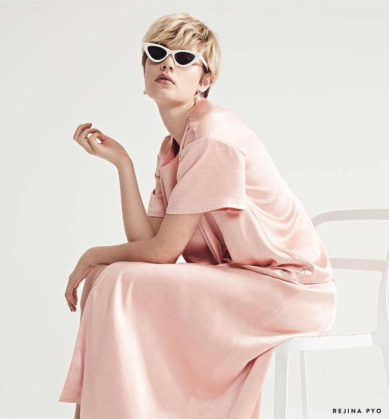 Punching up pastels: designer trend.