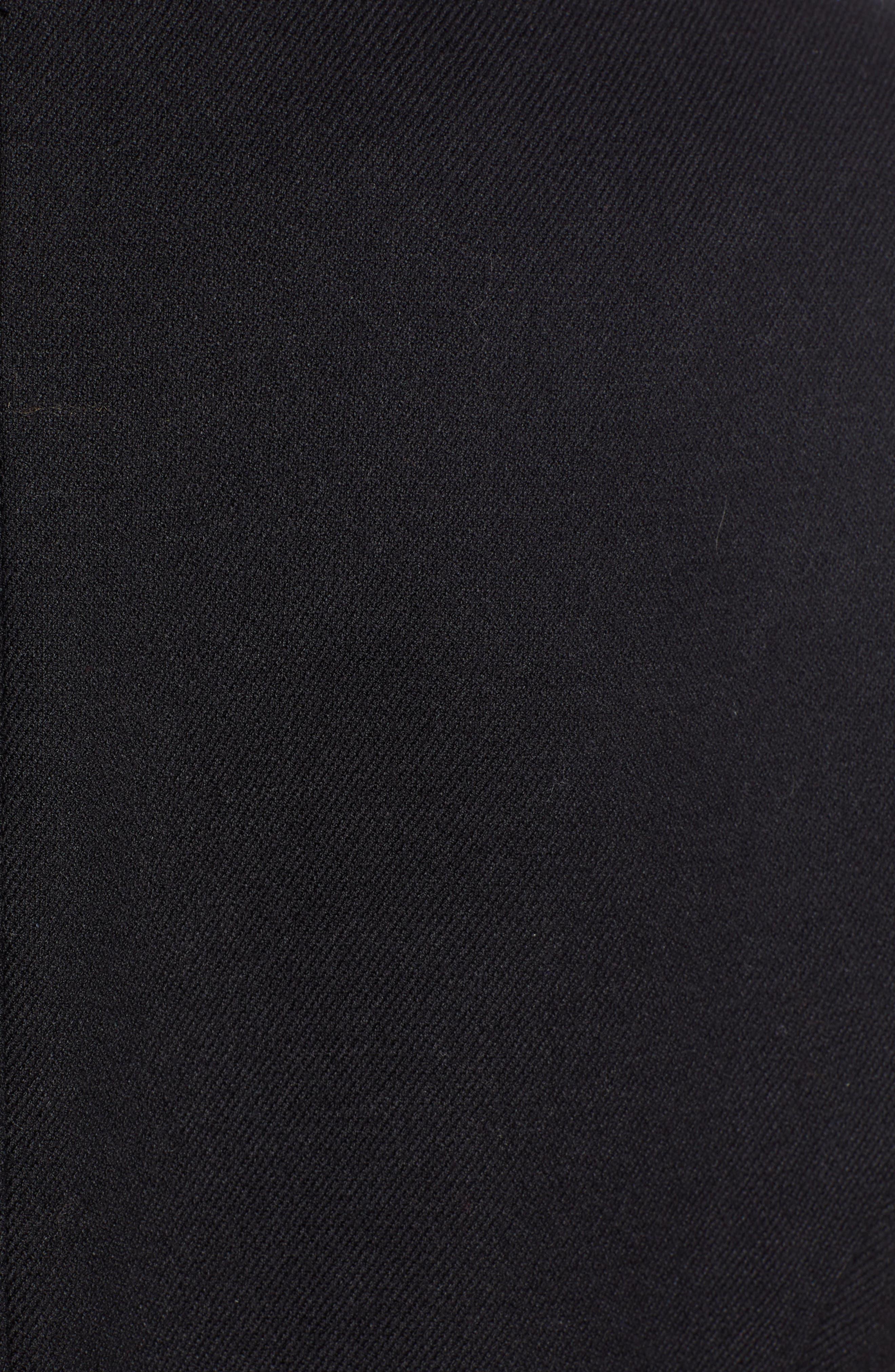 Menswear Vest,                             Alternate thumbnail 7, color,                             BLACK