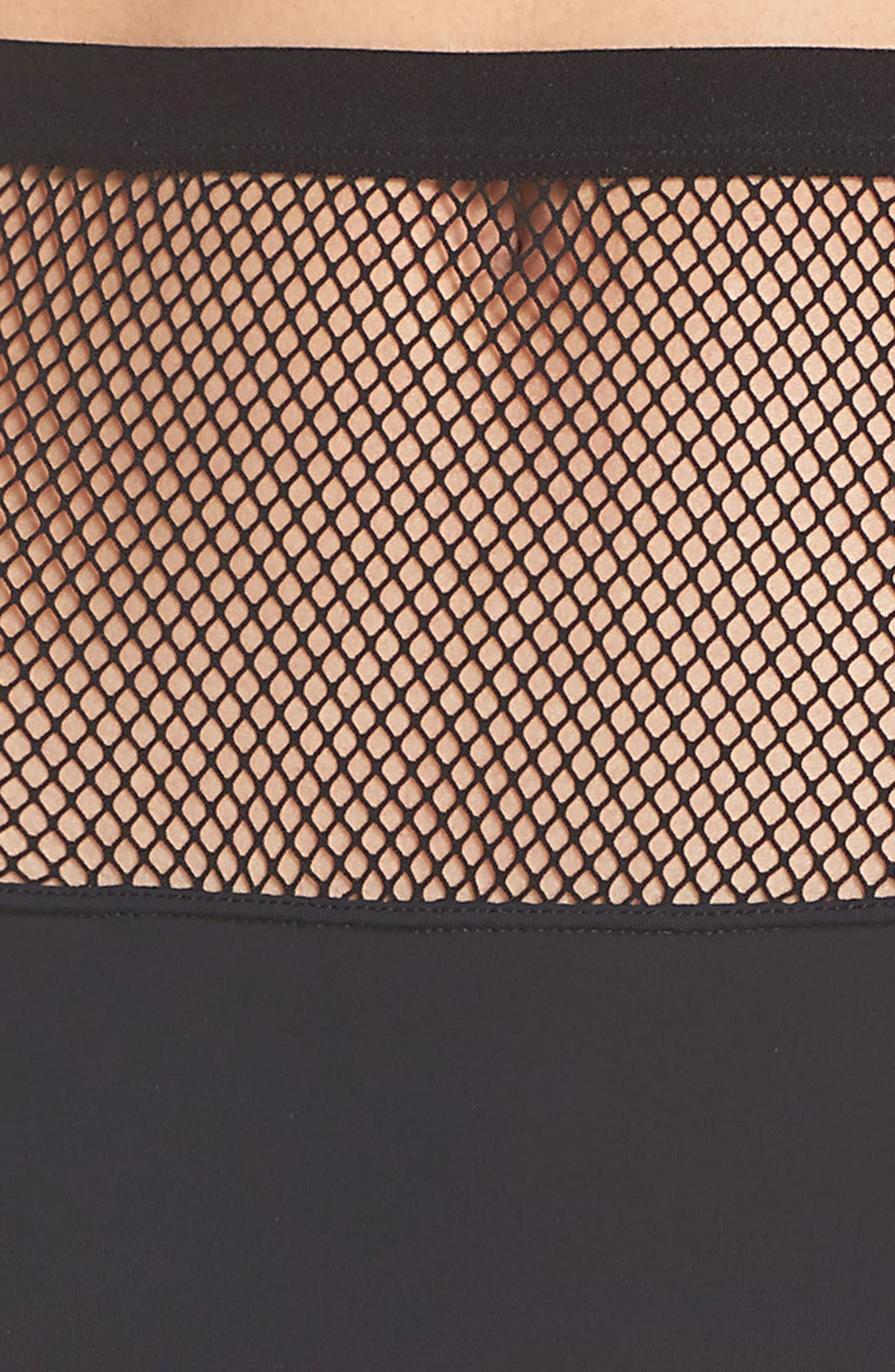 Honeydew Fishnet Hipster Panties,                             Alternate thumbnail 4, color,                             001