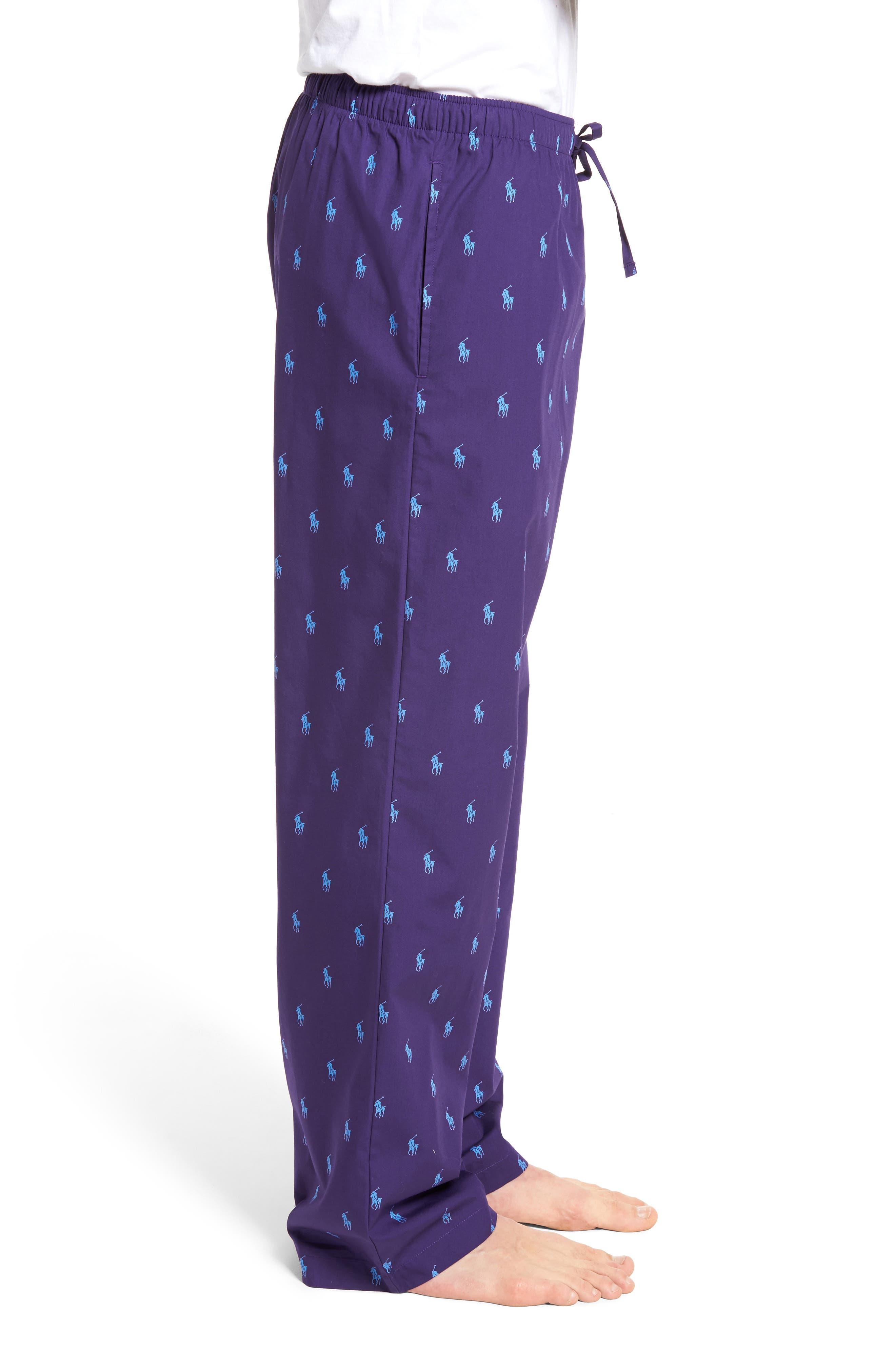 Polo Ralph Lauren Cotton Lounge Pants,                             Alternate thumbnail 14, color,