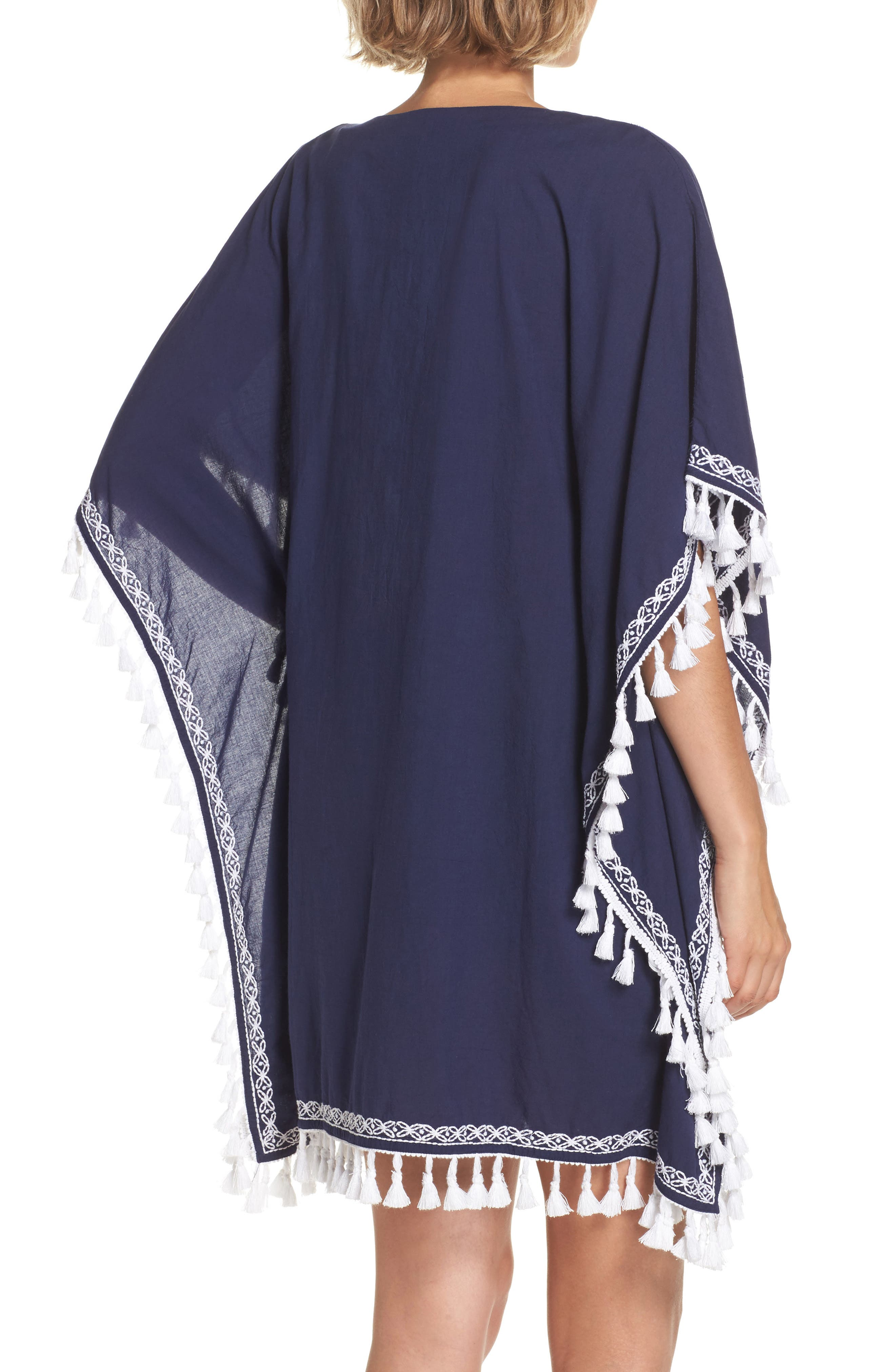 Voile Cover-Up Tunic,                             Alternate thumbnail 2, color,                             400