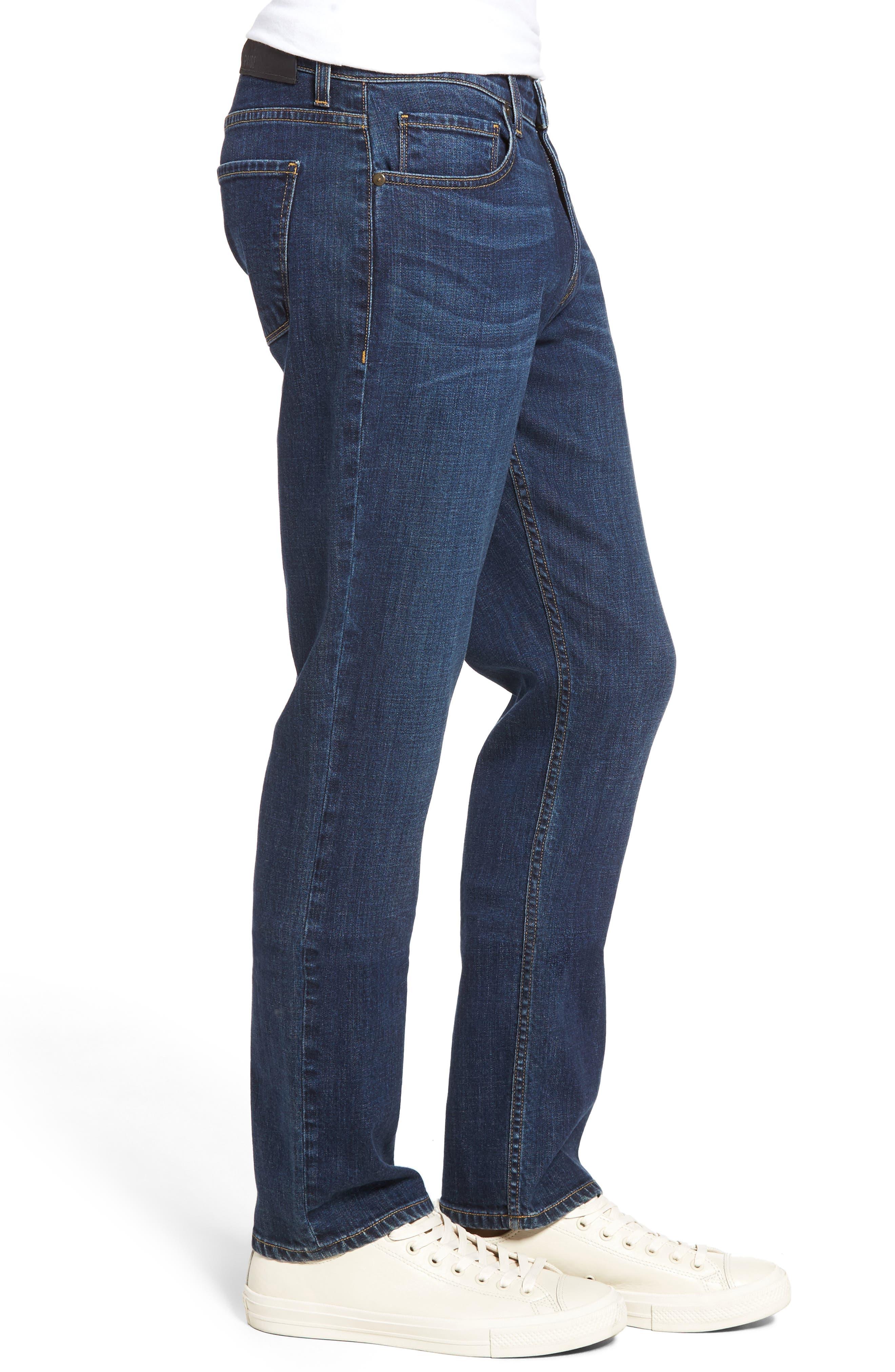 Normandie Straight Leg Jeans,                             Alternate thumbnail 3, color,                             ANGELO