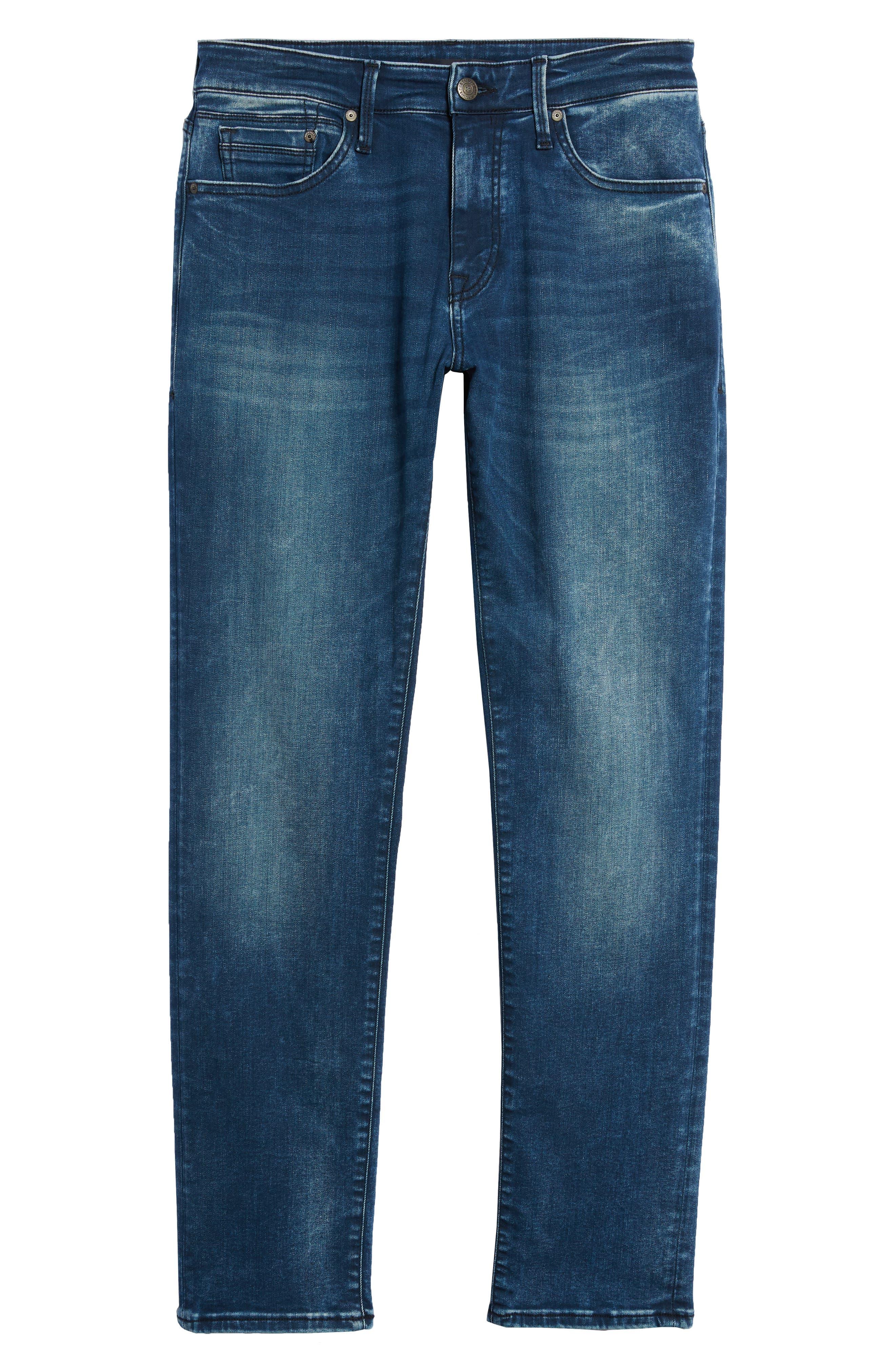 Marcus Slim Straight Leg Jeans,                             Alternate thumbnail 6, color,                             401