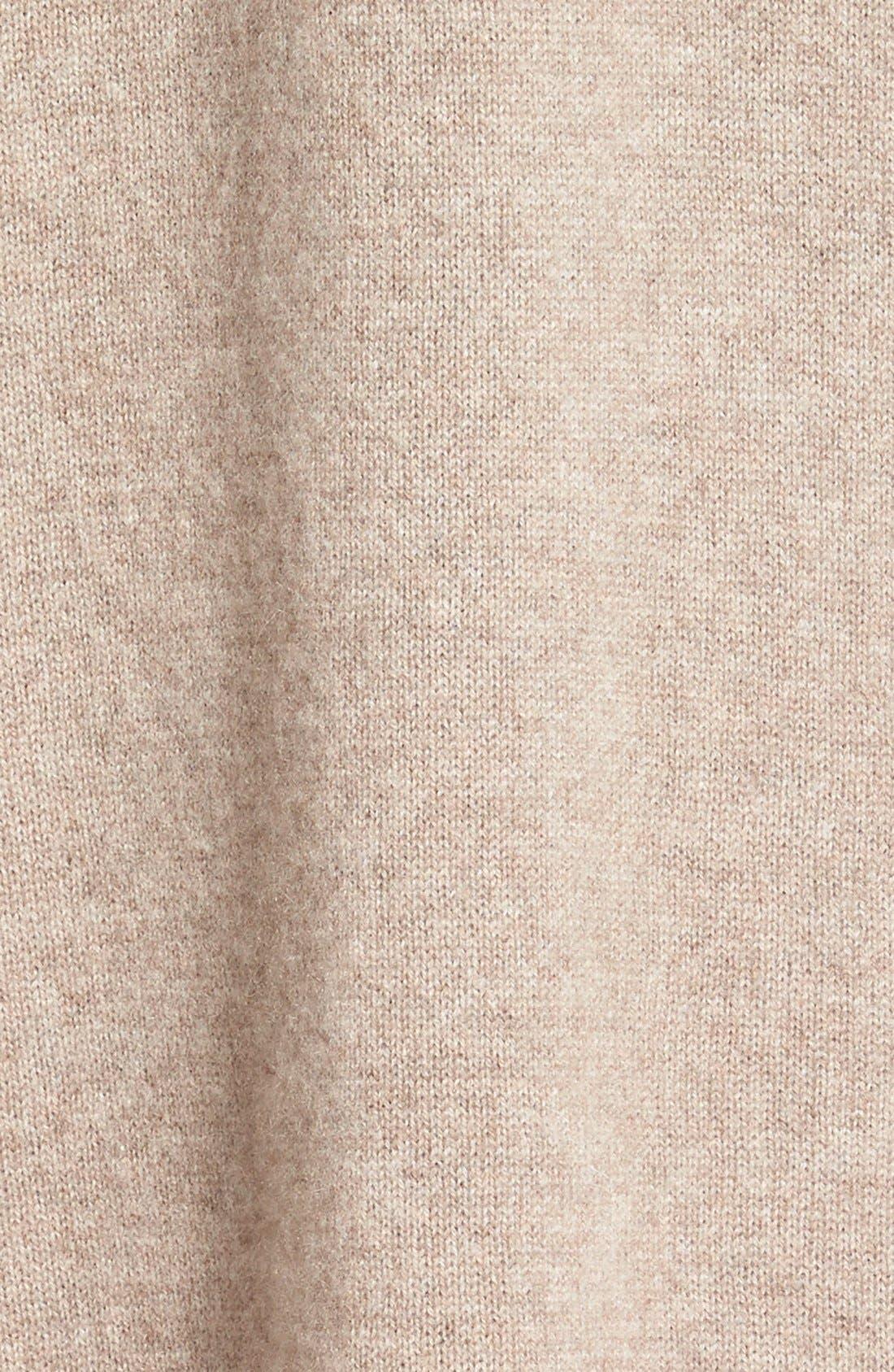 Cashmere Long Drape Front Cardigan,                             Alternate thumbnail 15, color,