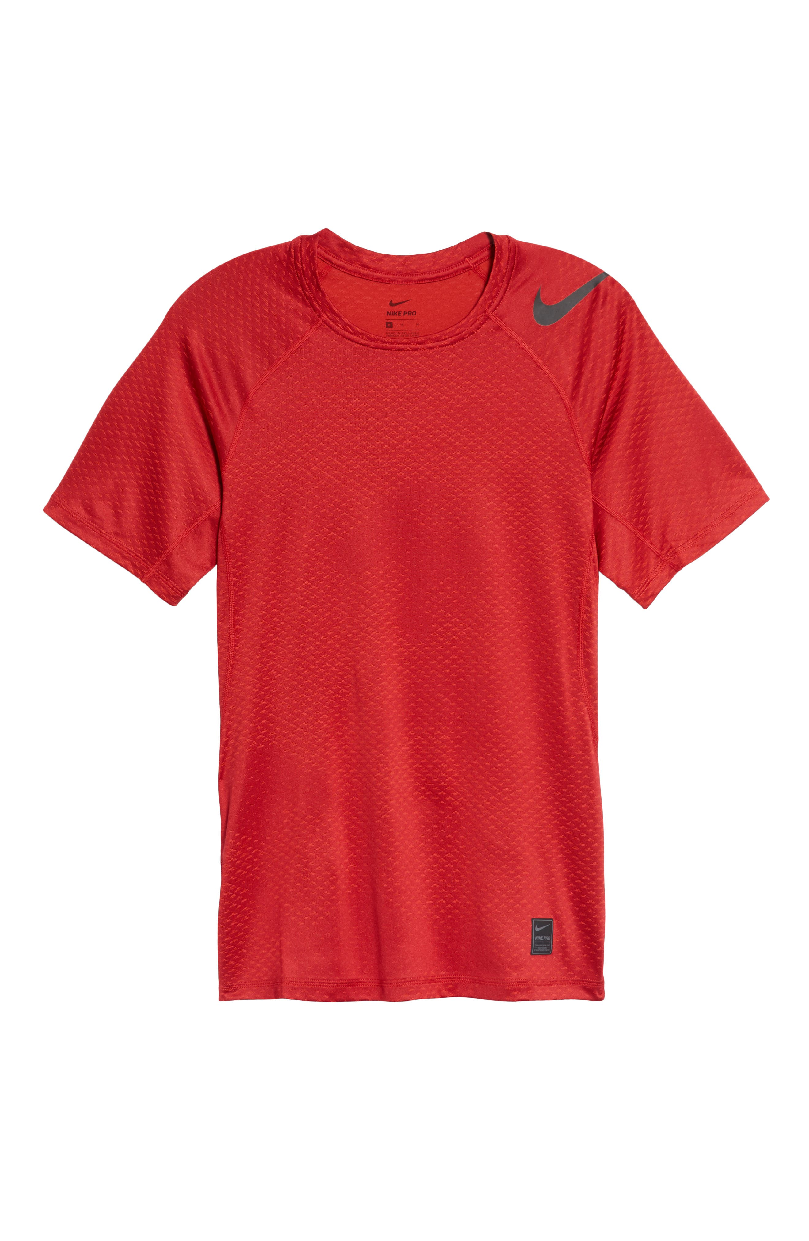 Pro HyperCool Fitted Crewneck T-Shirt,                             Alternate thumbnail 18, color,