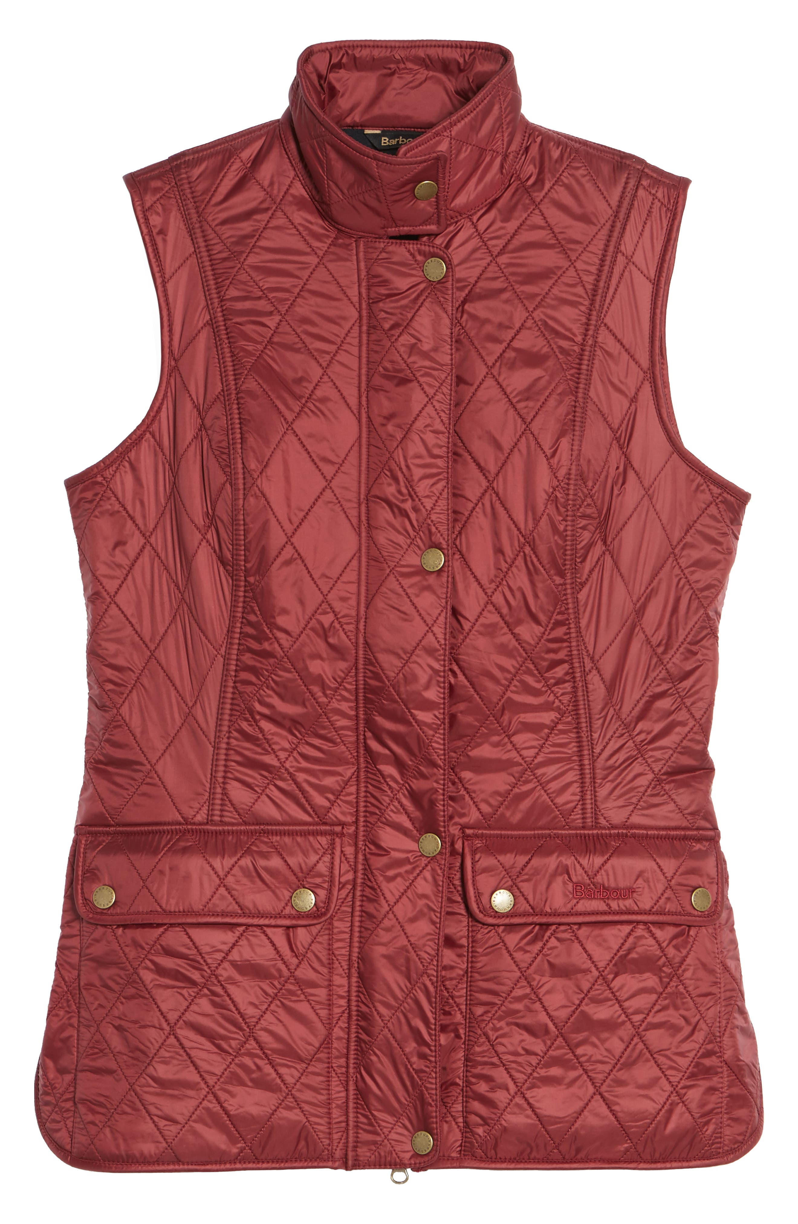 Wray Water Resistant Quilted Gilet,                             Alternate thumbnail 19, color,