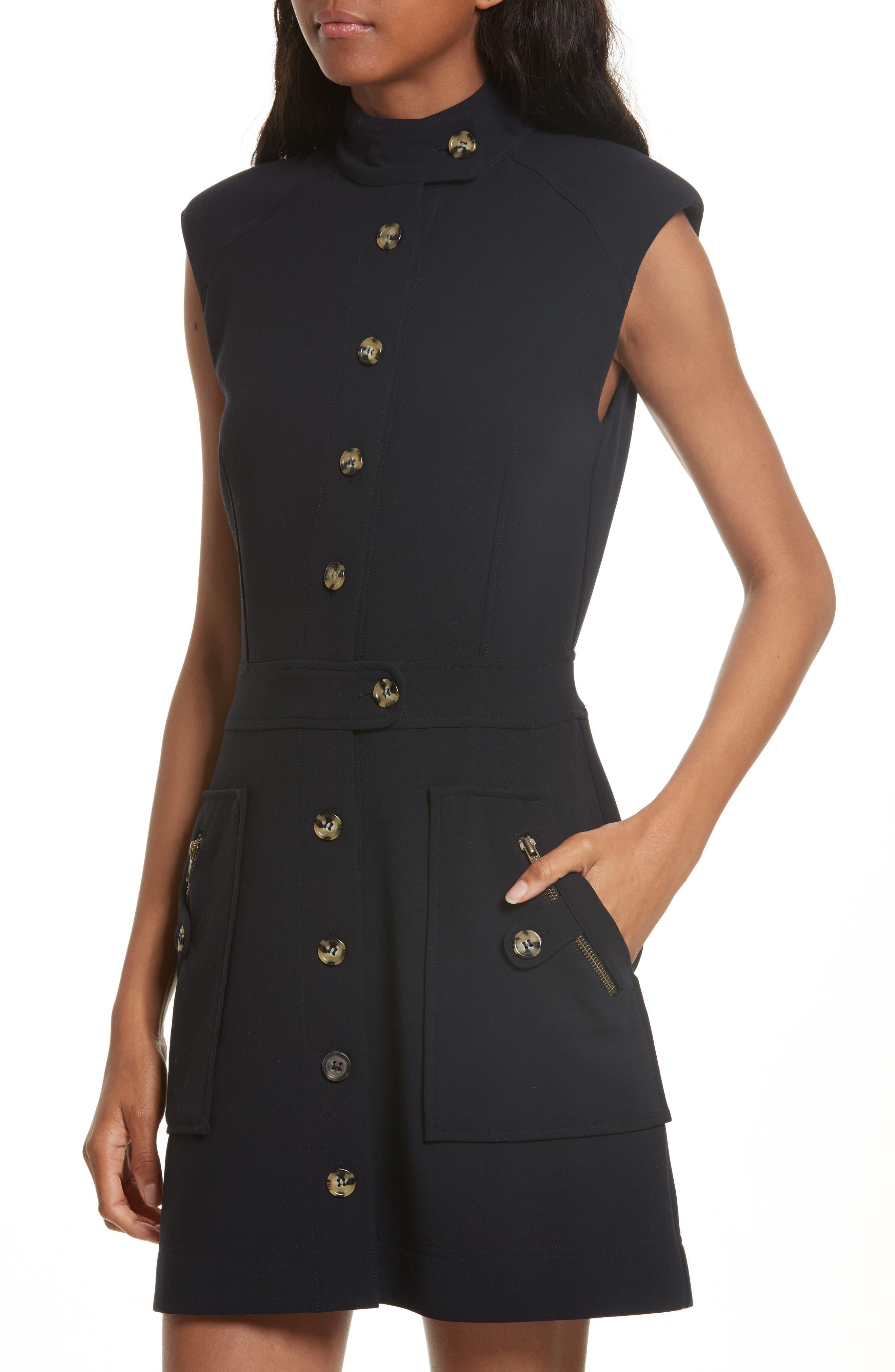 Leigh Mod Dress,                             Alternate thumbnail 4, color,                             414