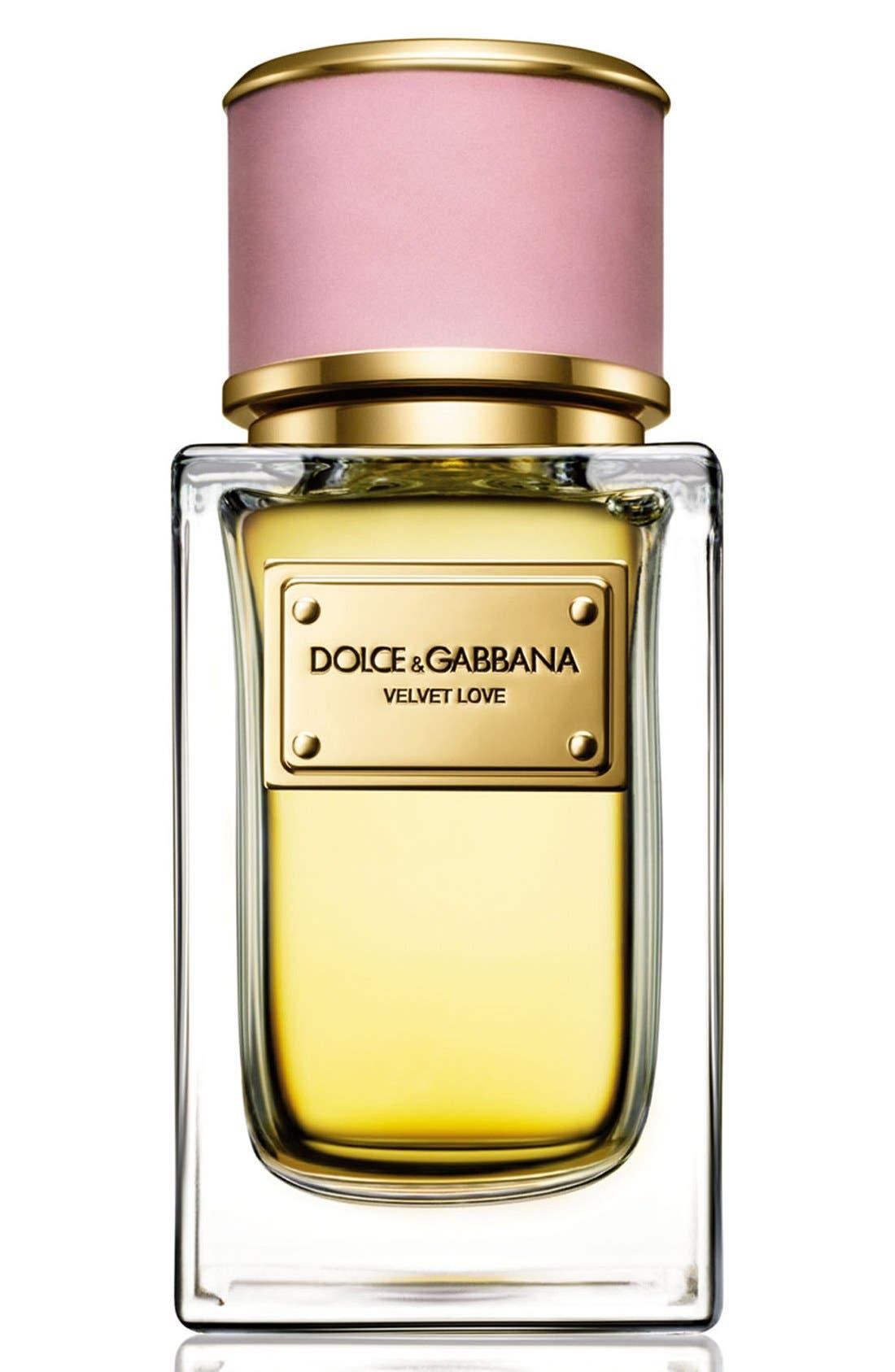 Dolce&GabbanaBeauty 'Velvet Love' Eau de Parfum,                             Main thumbnail 1, color,                             NO COLOR