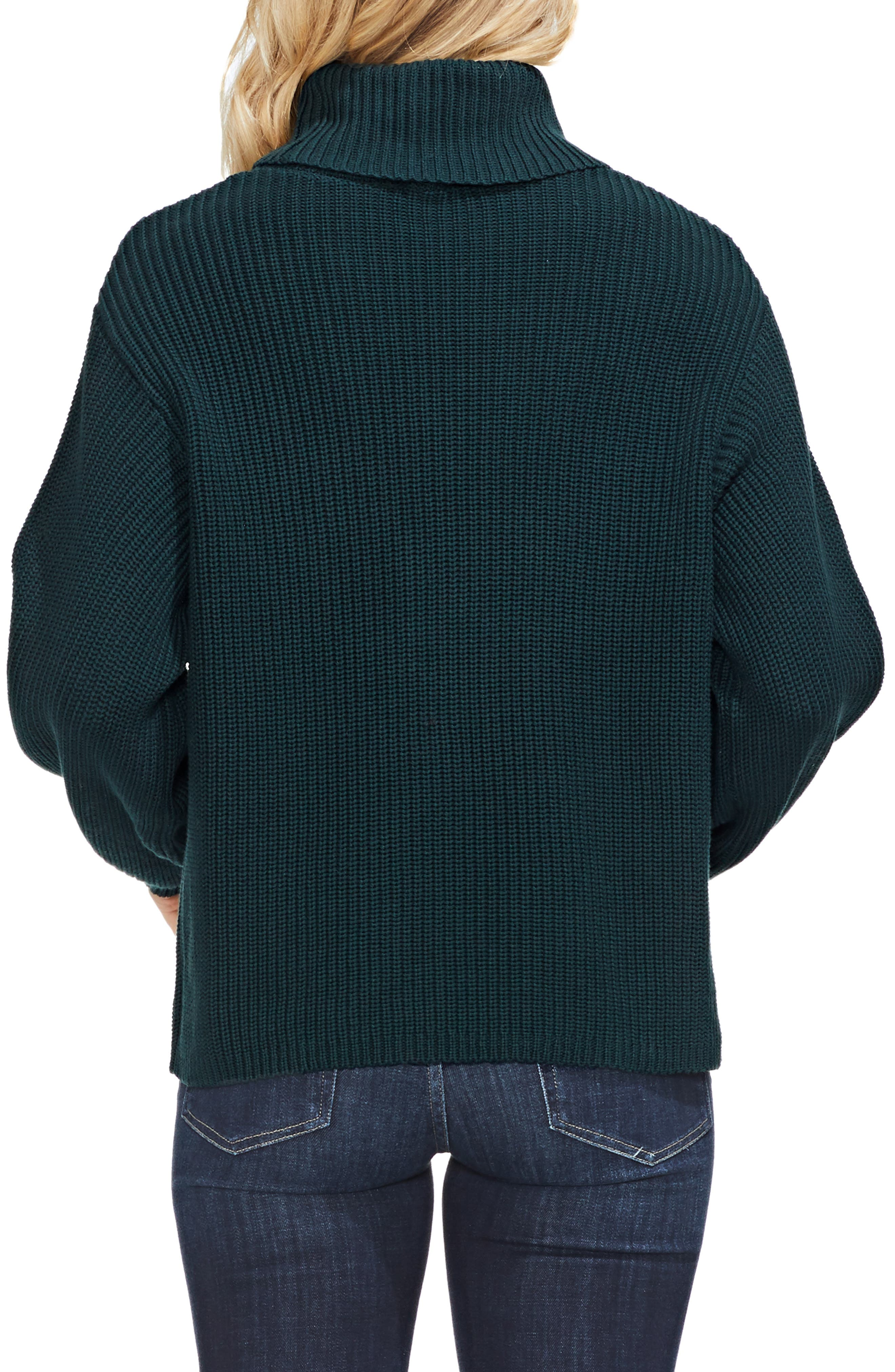 Slouchy Turtleneck Sweater,                             Alternate thumbnail 2, color,                             313
