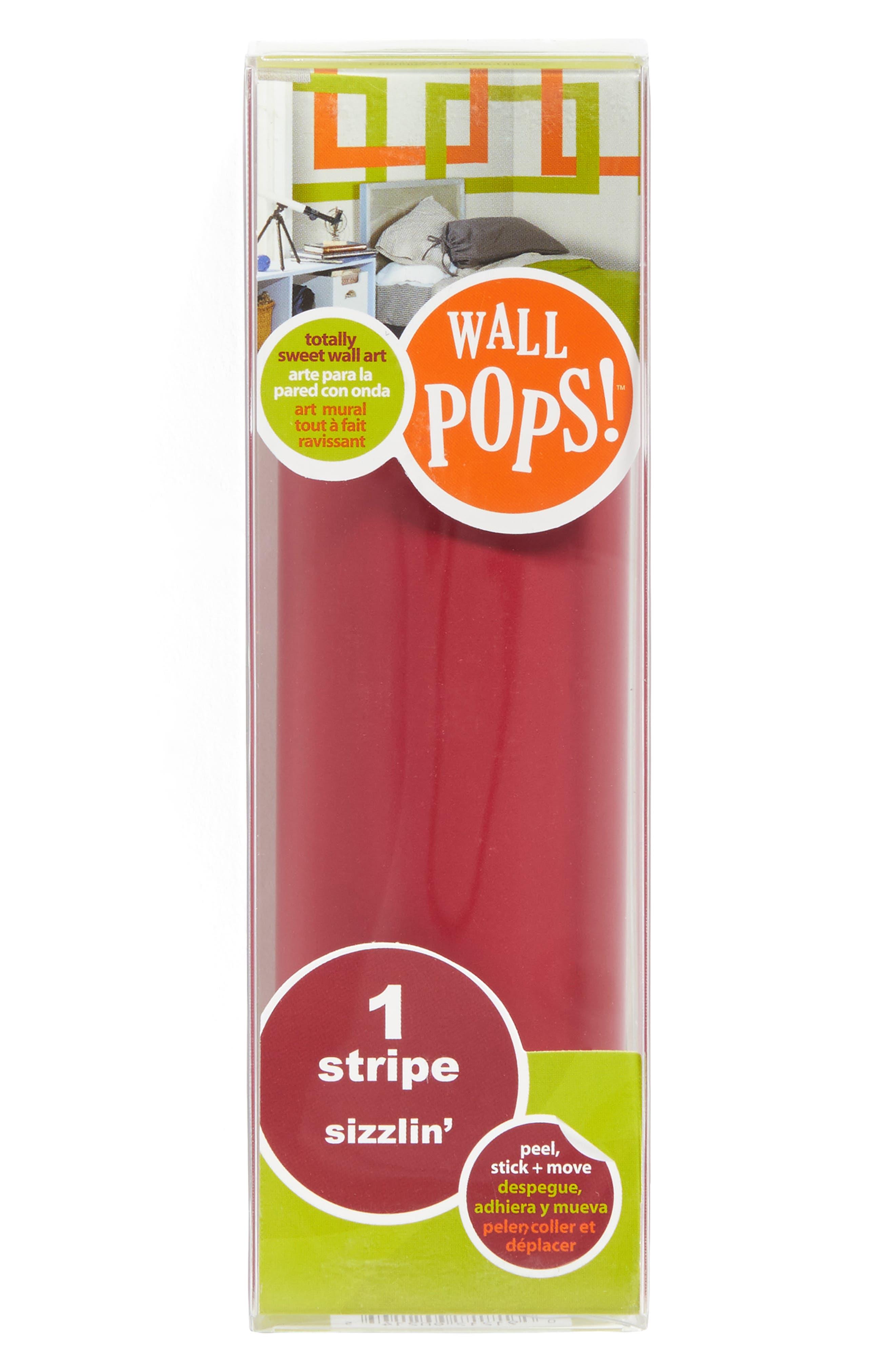 Dark Red  Peel & Stick Vinyl Stripes,                         Main,                         color,