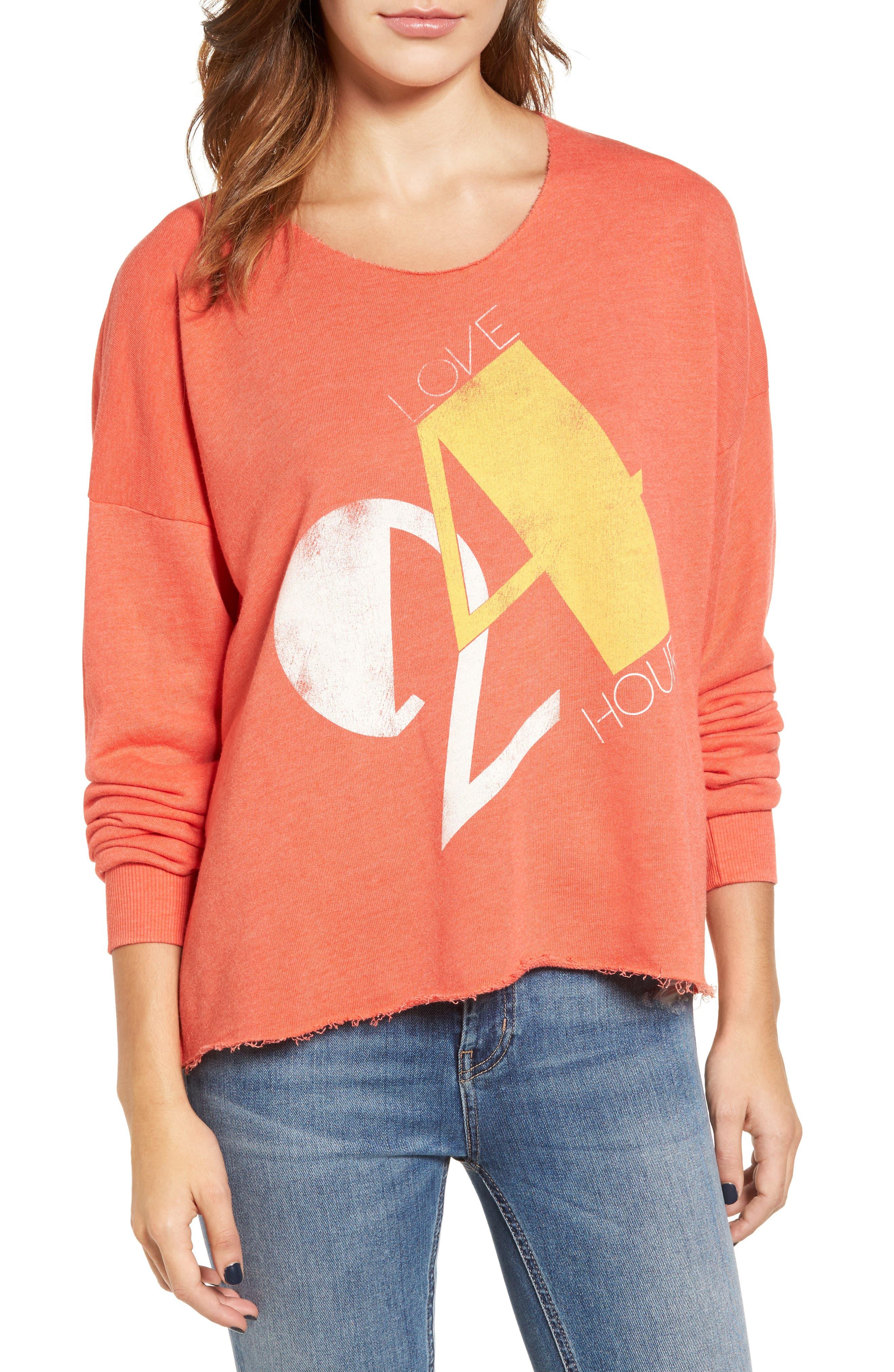 Love 24/7 Sweatshirt,                         Main,                         color, 640