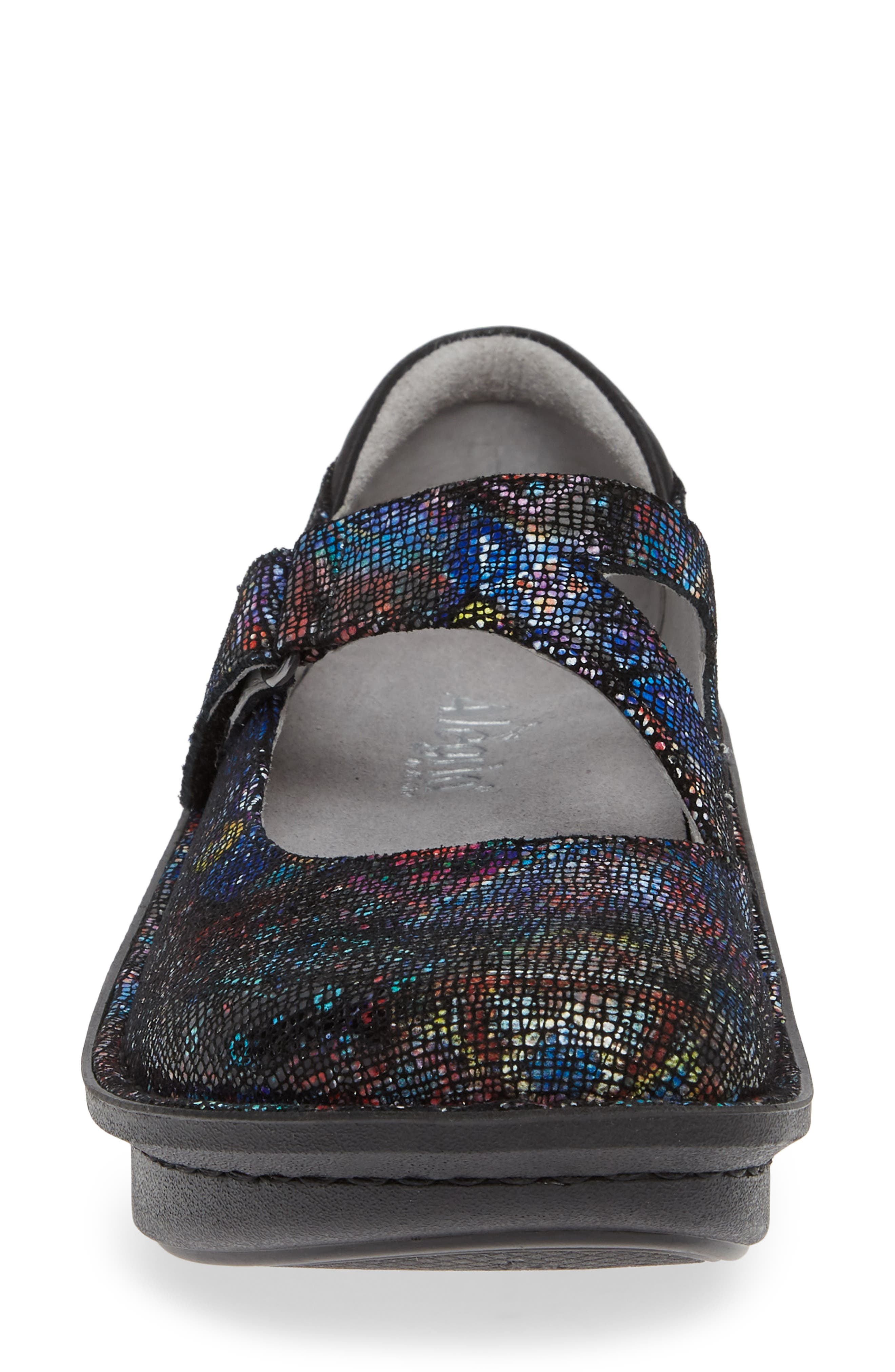ALEGRIA,                             'Dayna' Slip-On,                             Alternate thumbnail 4, color,                             BEAUTY BLUR LEATHER