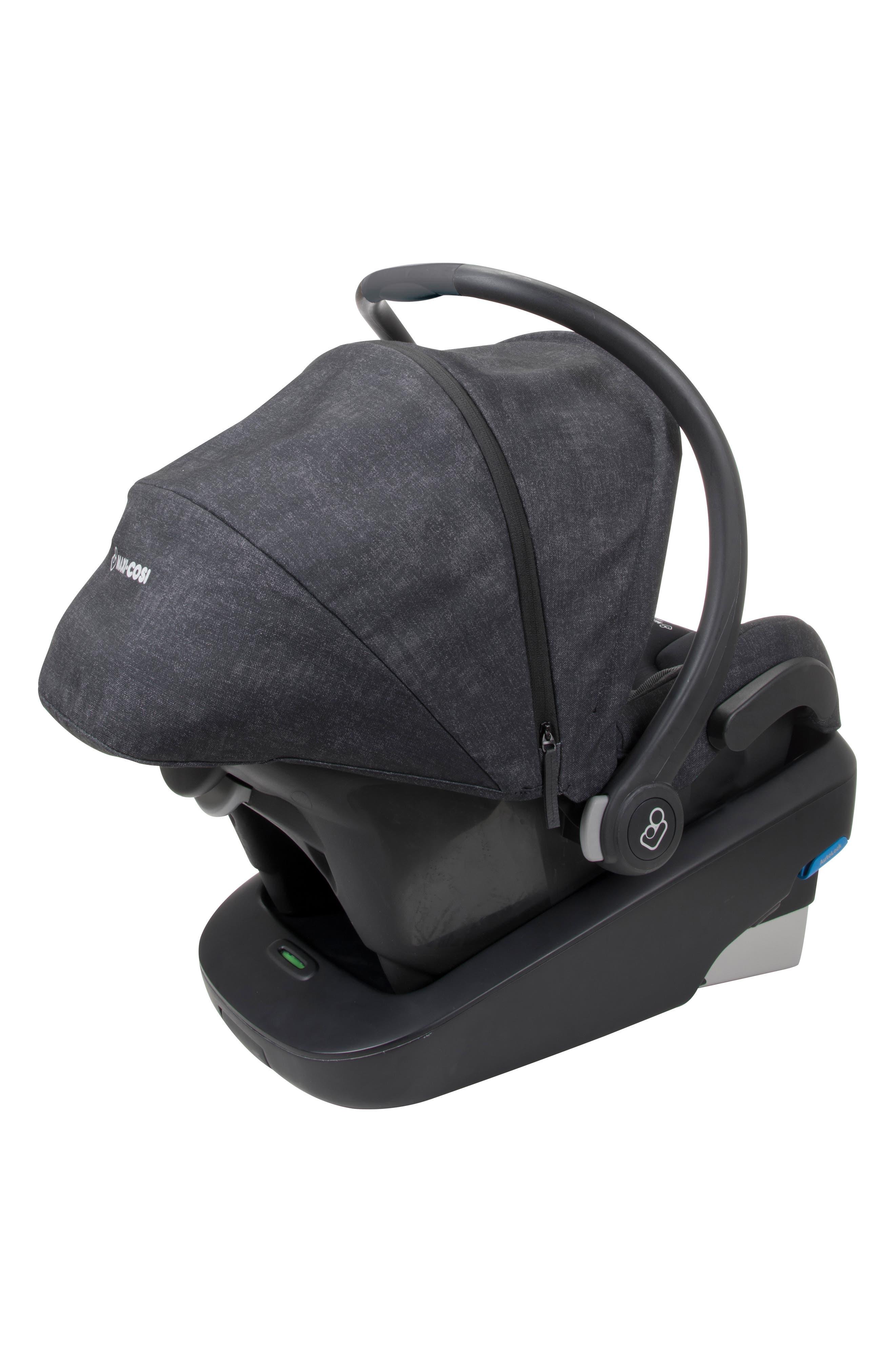 Mico Max Plus Infant Car Seat,                             Alternate thumbnail 8, color,                             NOMAD BLACK