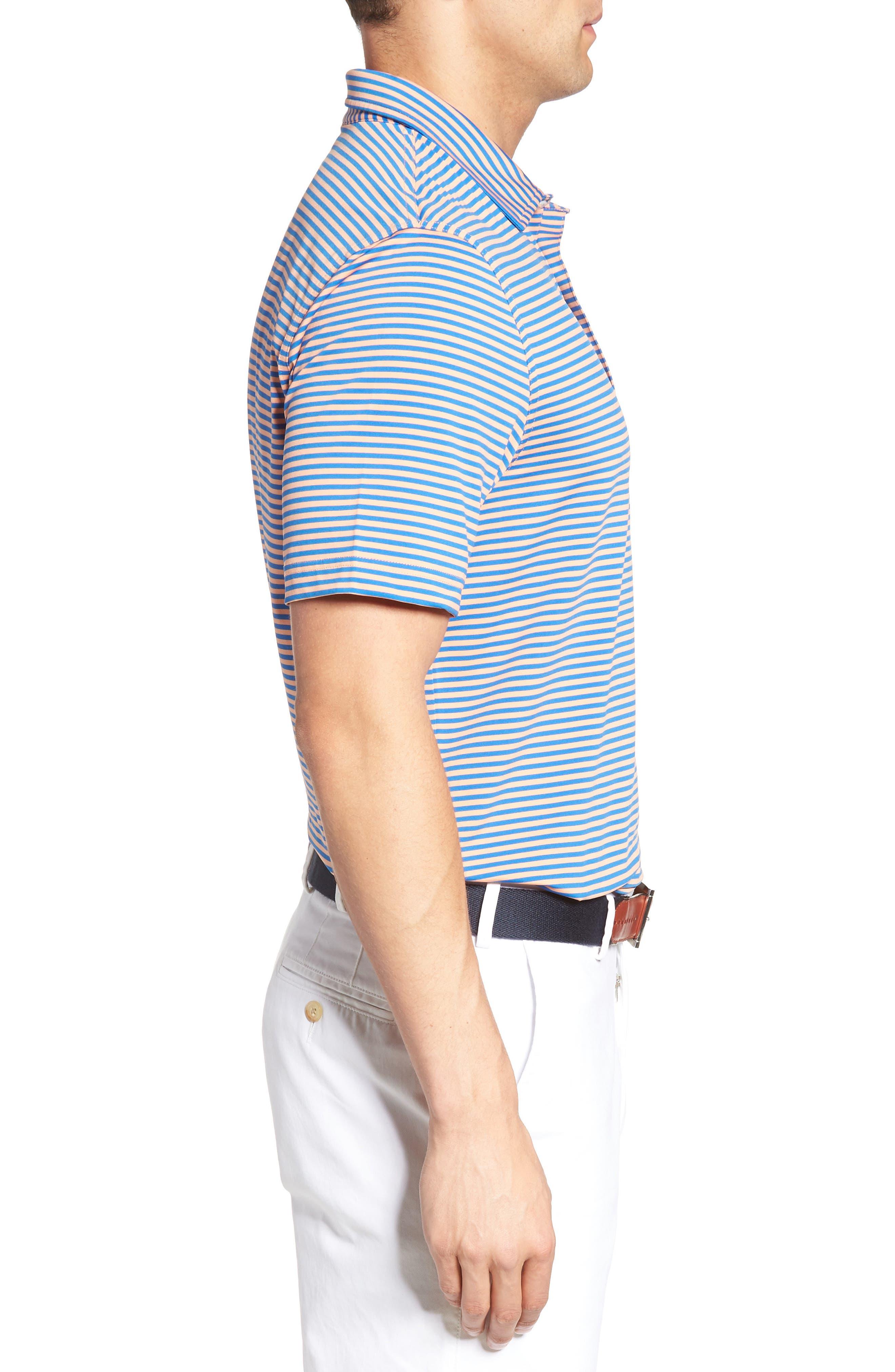 Kennedy Stripe Golf Polo,                             Alternate thumbnail 57, color,