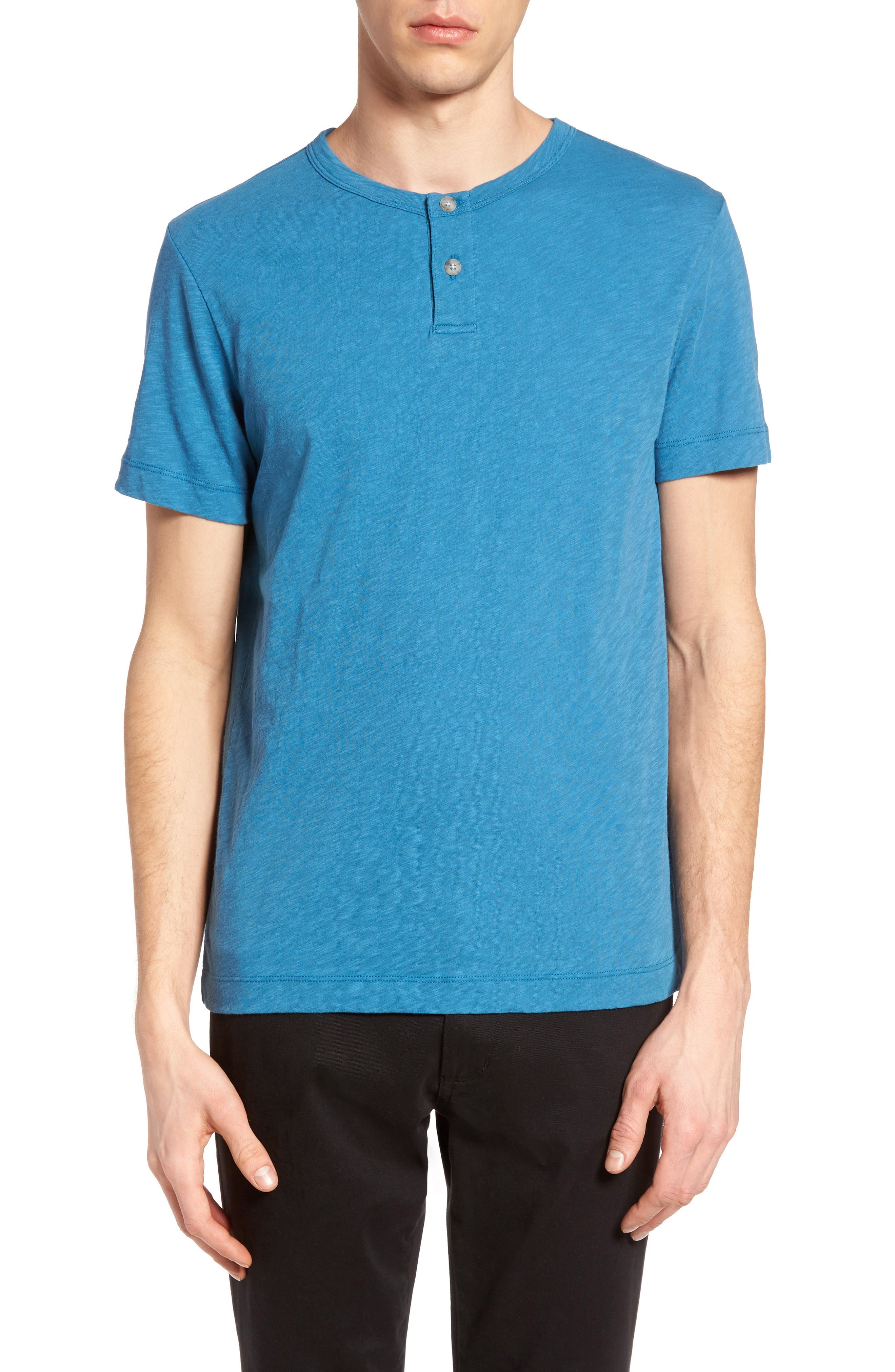 Gaskell Henley T-Shirt,                             Main thumbnail 7, color,