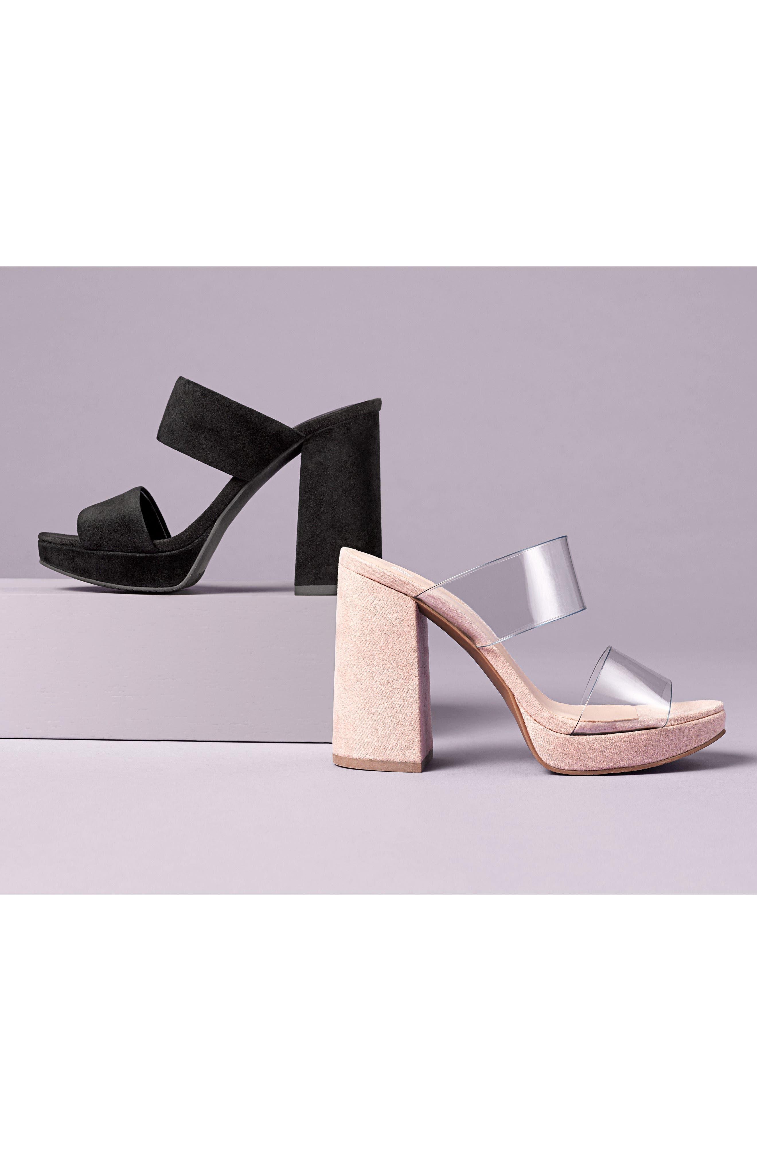 Sophia Platform Sandal,                             Alternate thumbnail 8, color,                             001