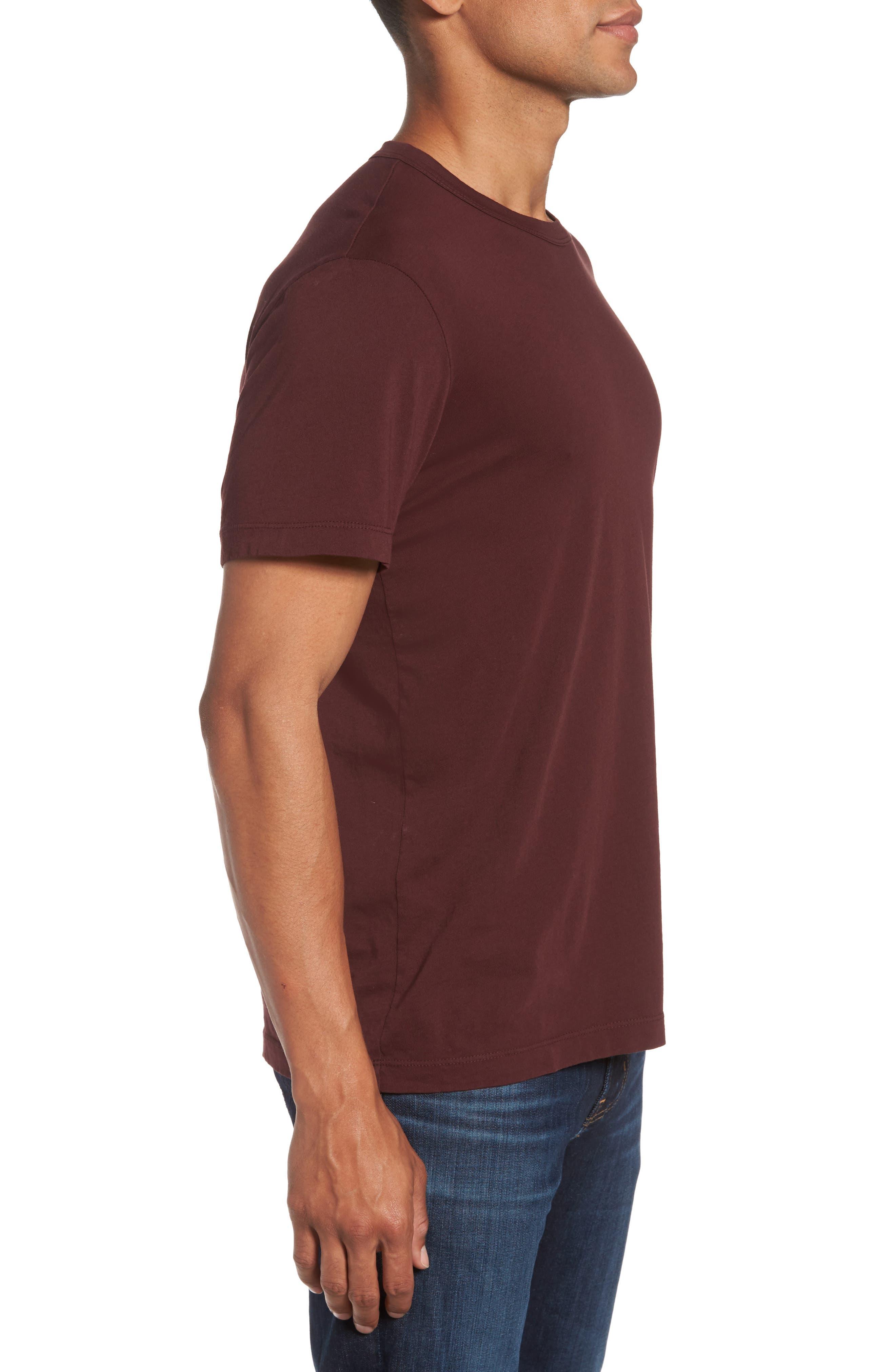 Crewneck Jersey T-Shirt,                             Alternate thumbnail 369, color,