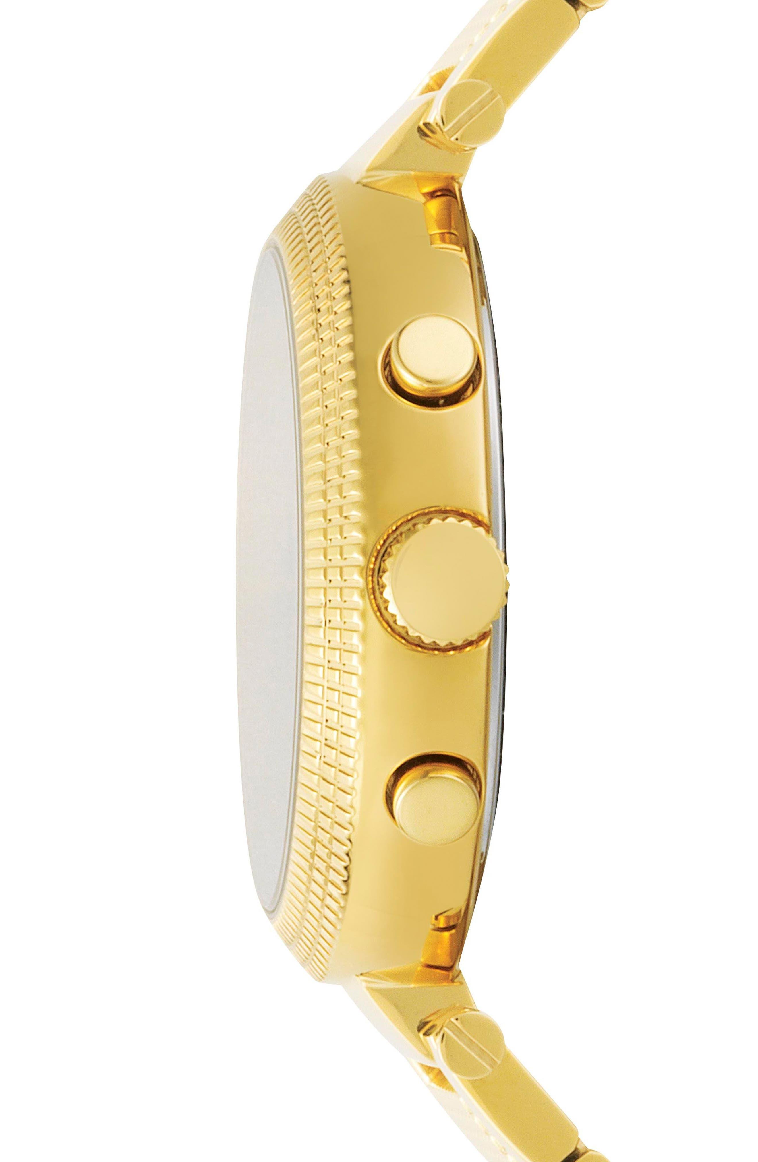 Versus by Versace Star Ferry Chronograph Bracelet Watch, 38mm,                             Alternate thumbnail 7, color,