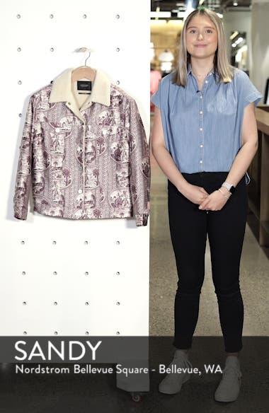 Fleece Lined Print Trucker Jacket, sales video thumbnail
