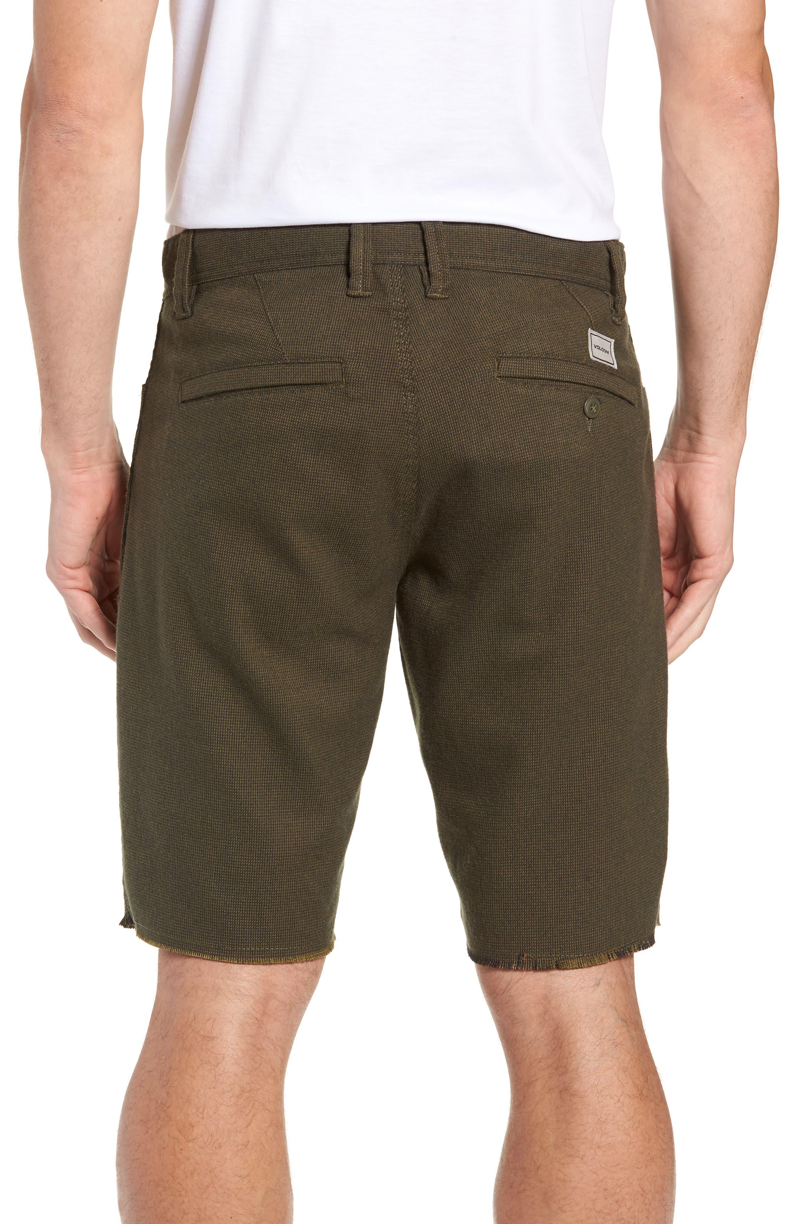 Gritter Thrifter Shorts,                             Alternate thumbnail 2, color,                             GREENTEA