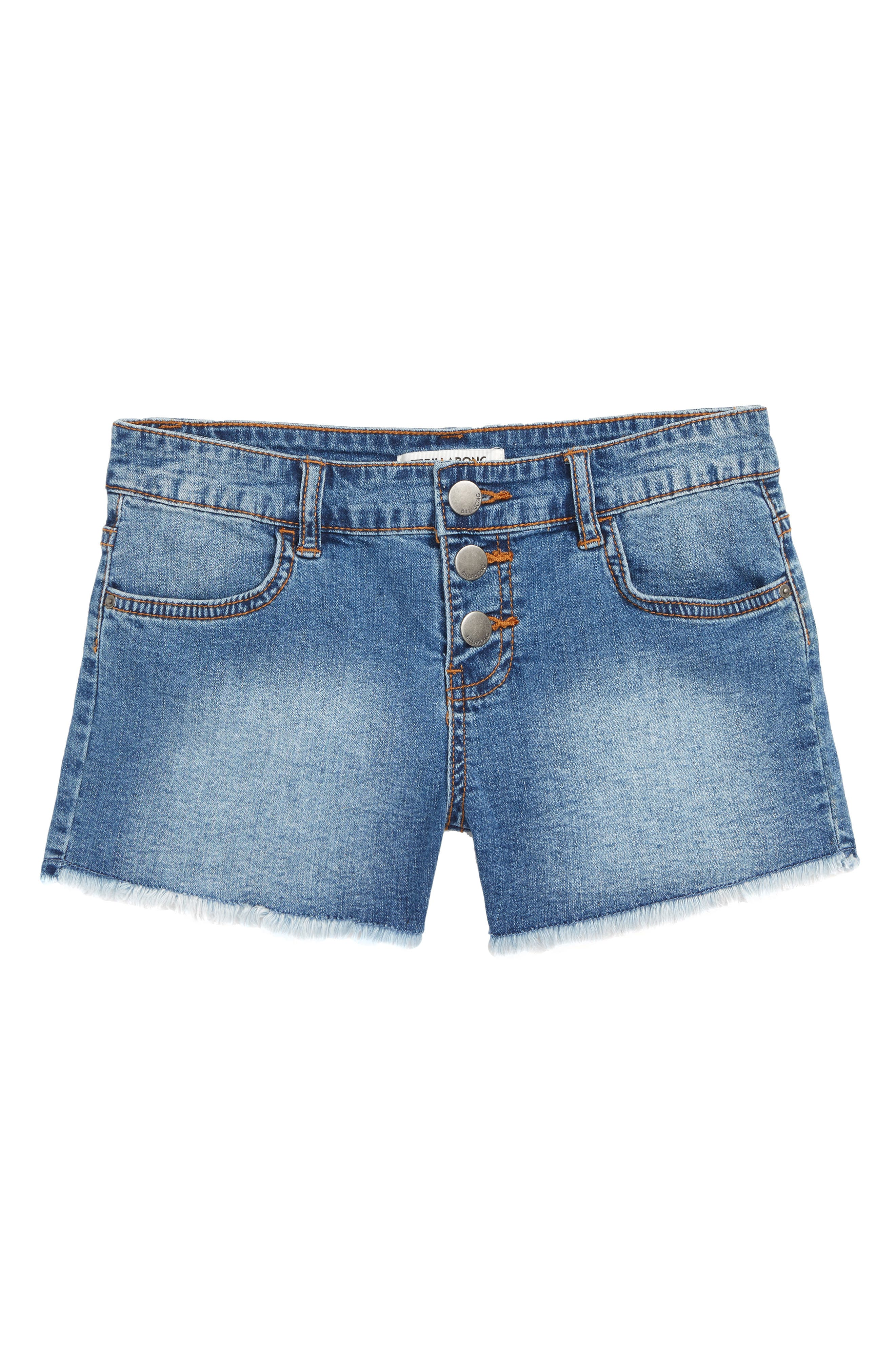 Buttoned Up Denim Shorts,                         Main,                         color, BCB