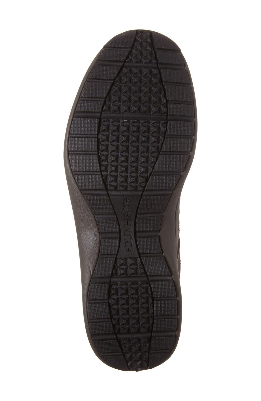 Seth-Dun Waterproof Sneaker,                             Alternate thumbnail 3, color,                             BROWN LEATHER