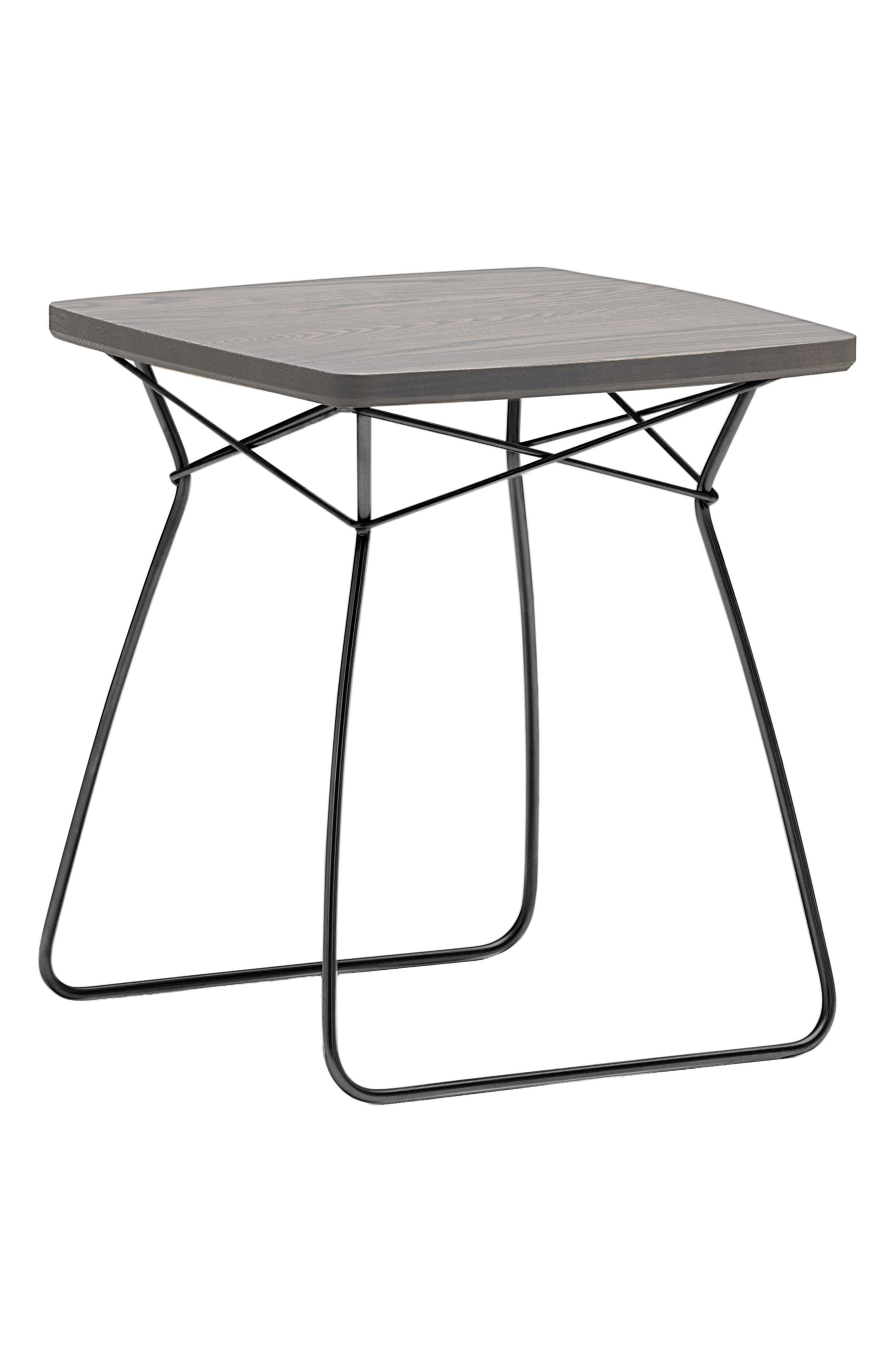 Dalt Side Table,                             Main thumbnail 1, color,                             ASH DARK