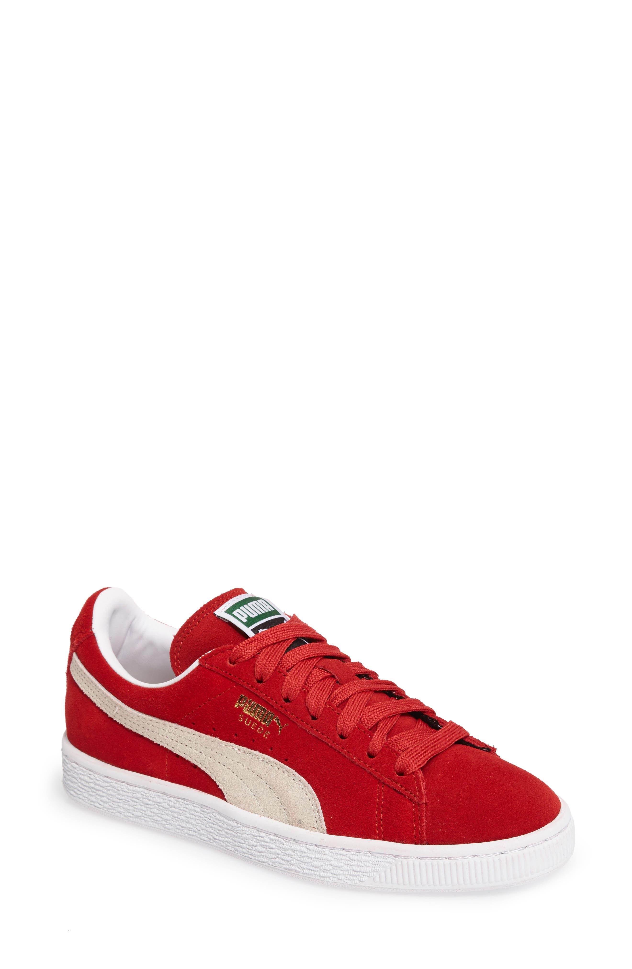 Suede Sneaker,                             Main thumbnail 24, color,