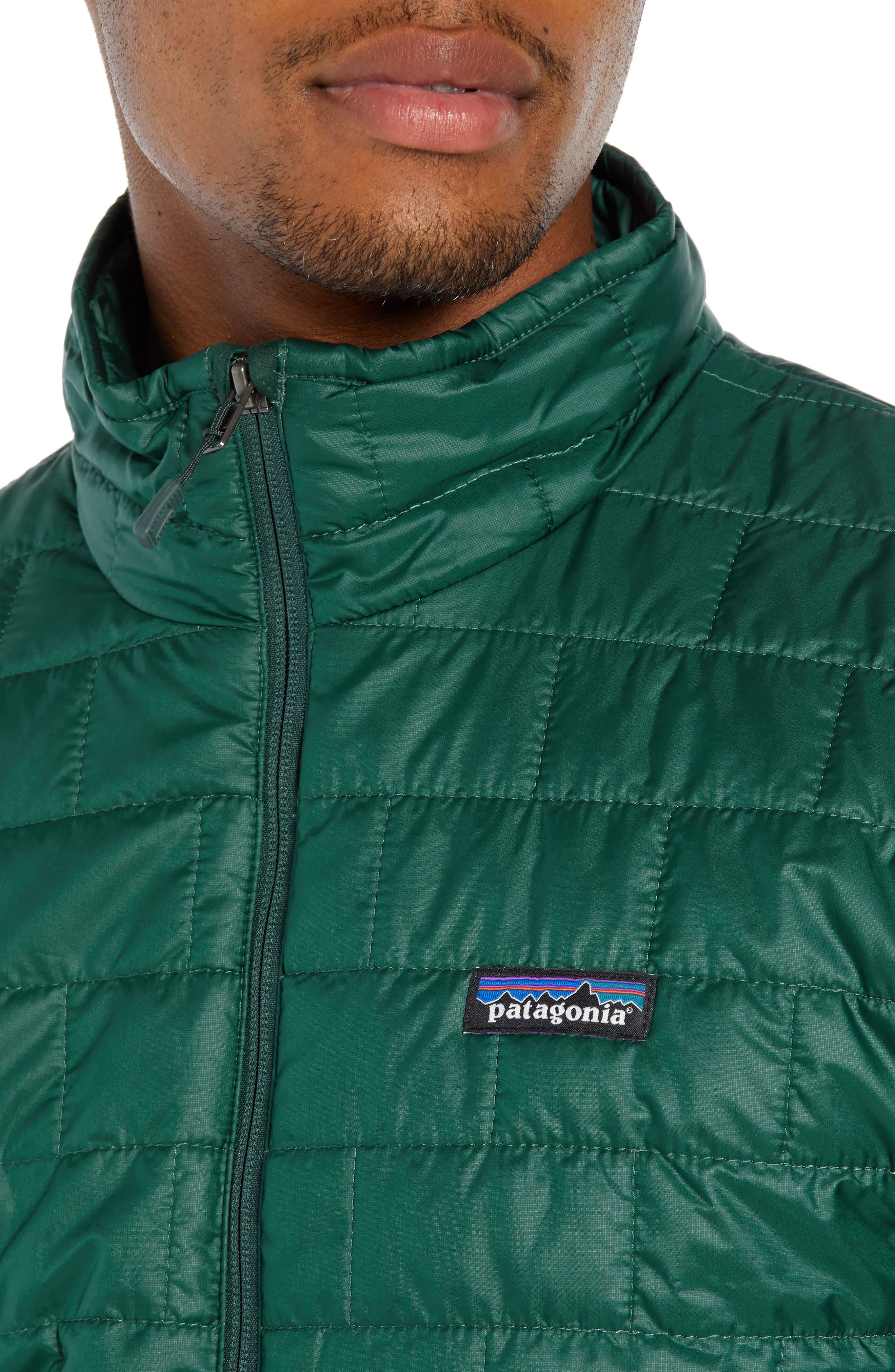 'Nano Puff<sup>®</sup>' Water Resistant Jacket,                             Alternate thumbnail 4, color,                             MICRO GREEN