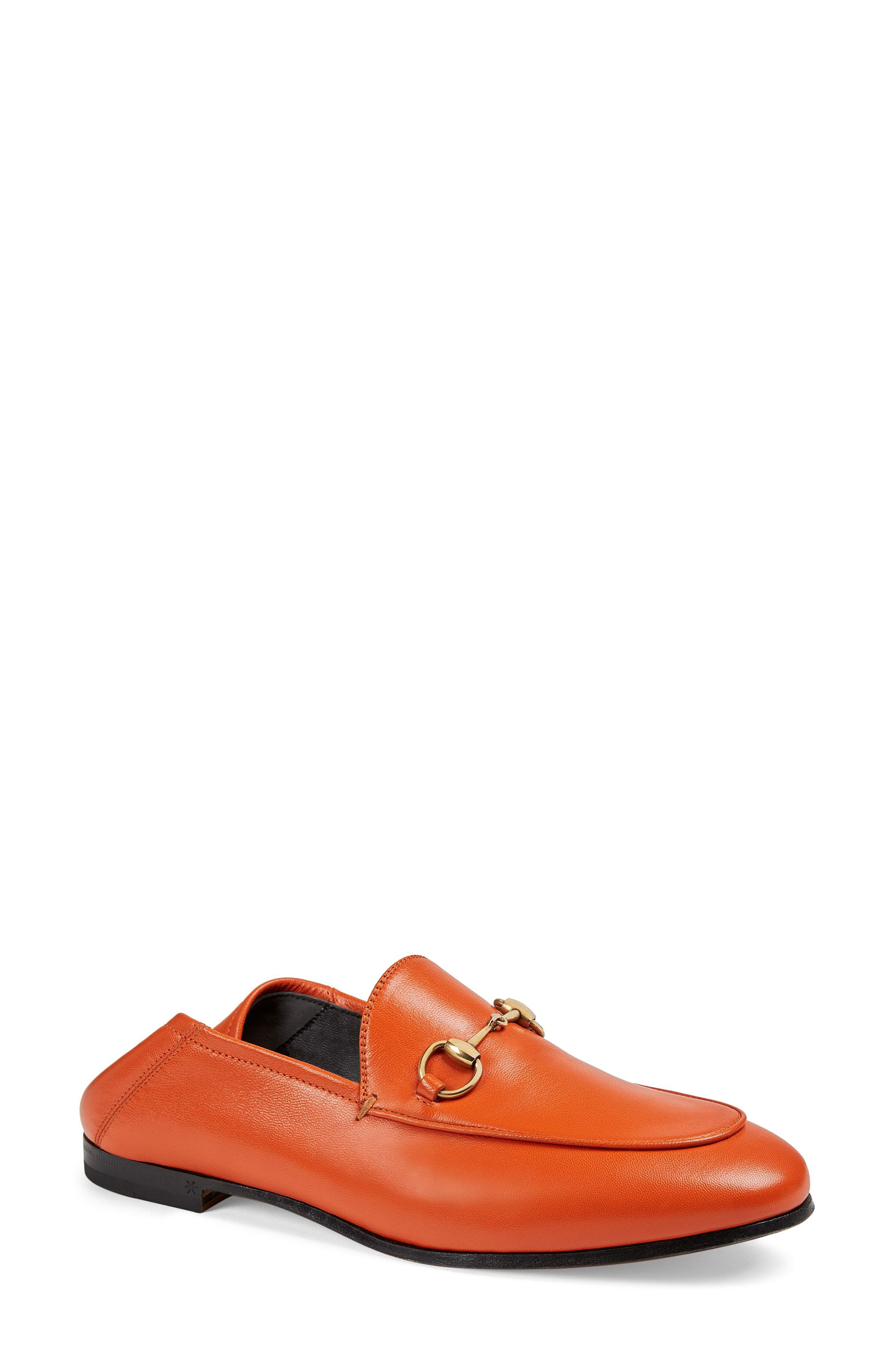 Brixton Convertible Loafer,                             Main thumbnail 1, color,                             DEEP ORANGE