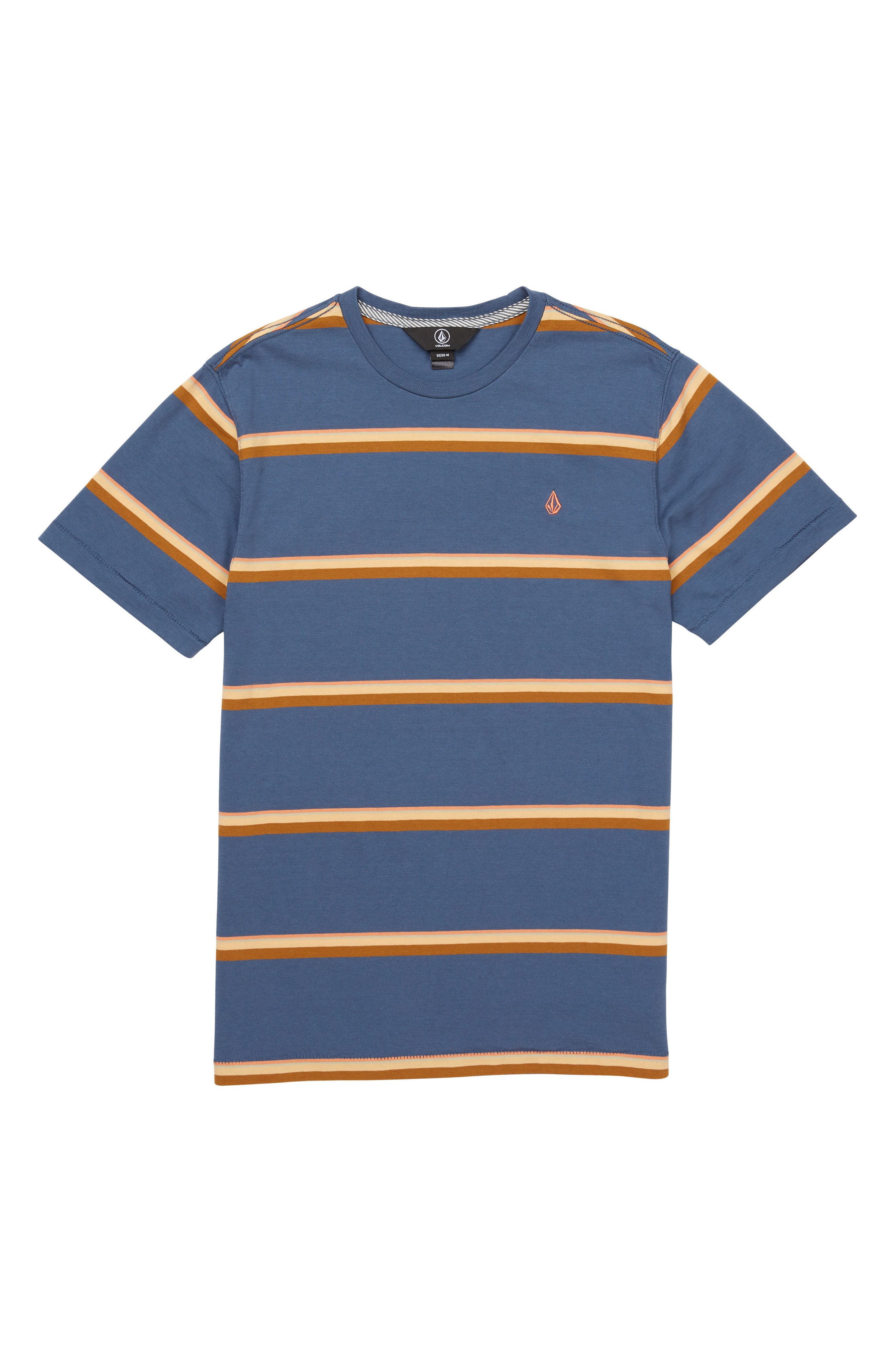 Sheldon Stripe Crewneck T-Shirt,                         Main,                         color, 463