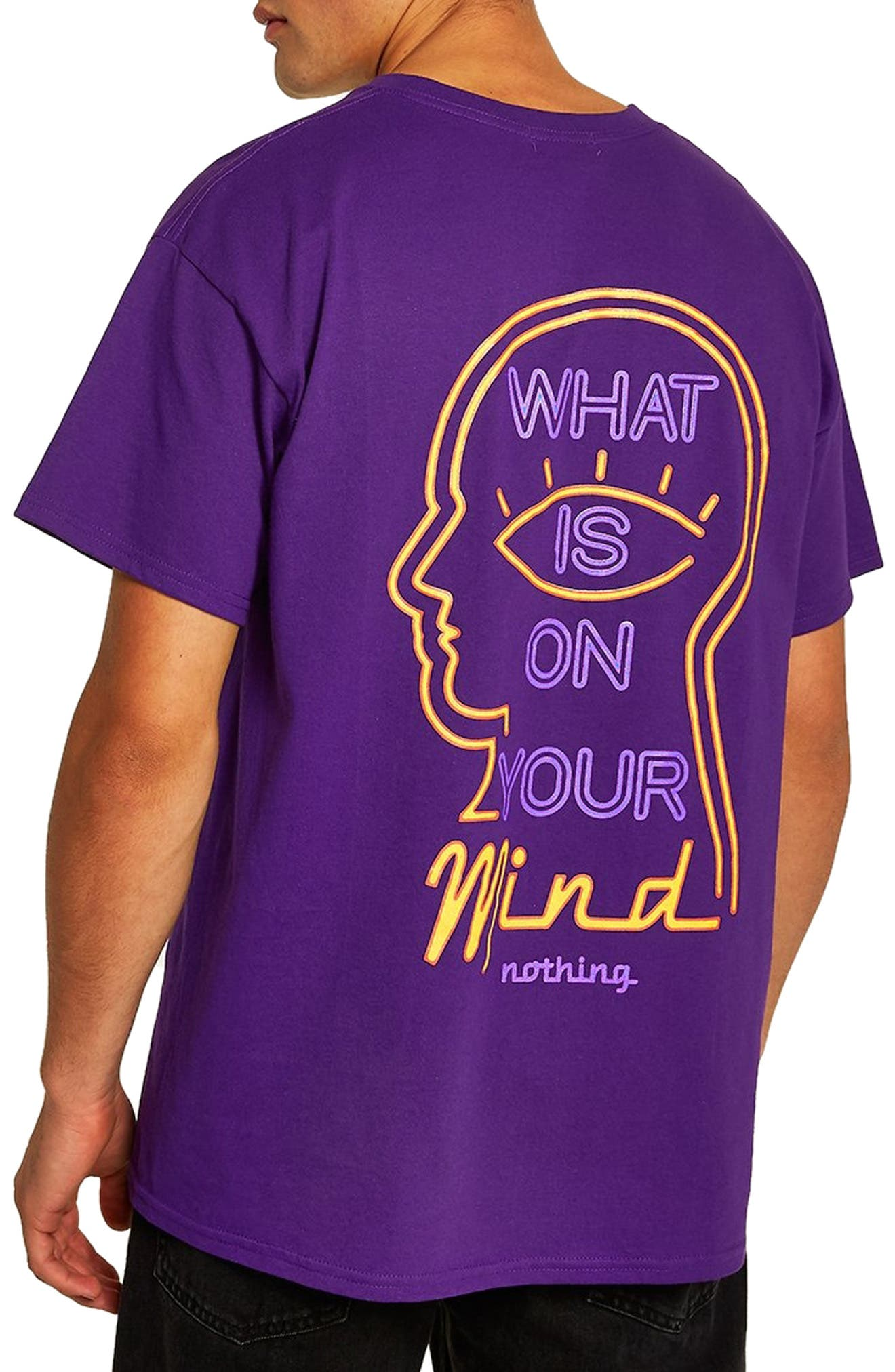 On Your Mind Graphic T-Shirt,                             Alternate thumbnail 2, color,                             500