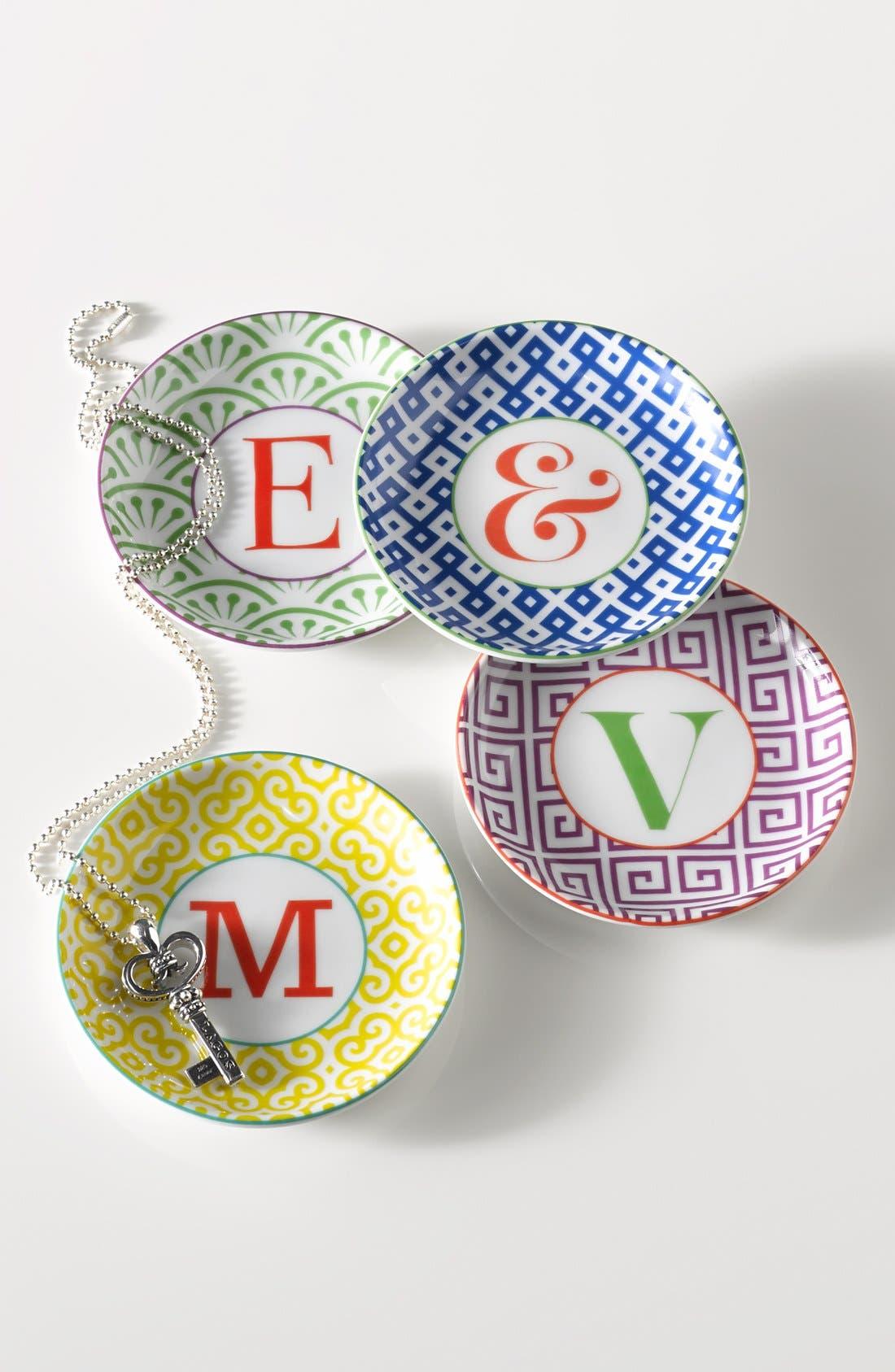 'L'Alphabet' Porcelain Tray,                             Alternate thumbnail 25, color,
