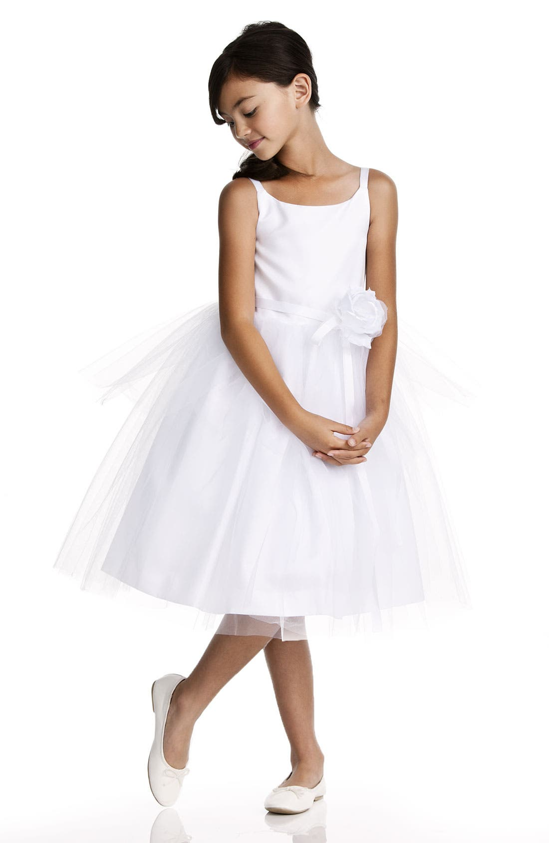 Tulle Ballerina Dress,                             Main thumbnail 5, color,