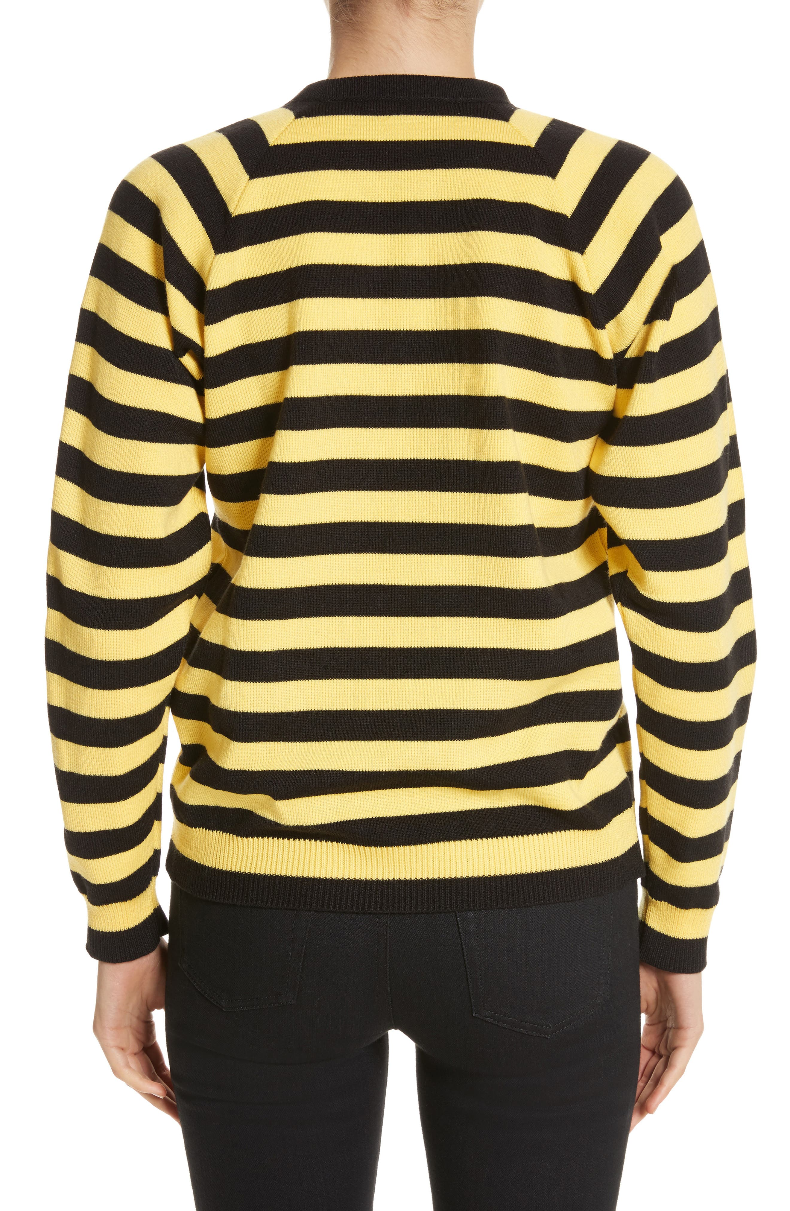Bumblebee Stripe Sweater,                             Alternate thumbnail 2, color,                             750