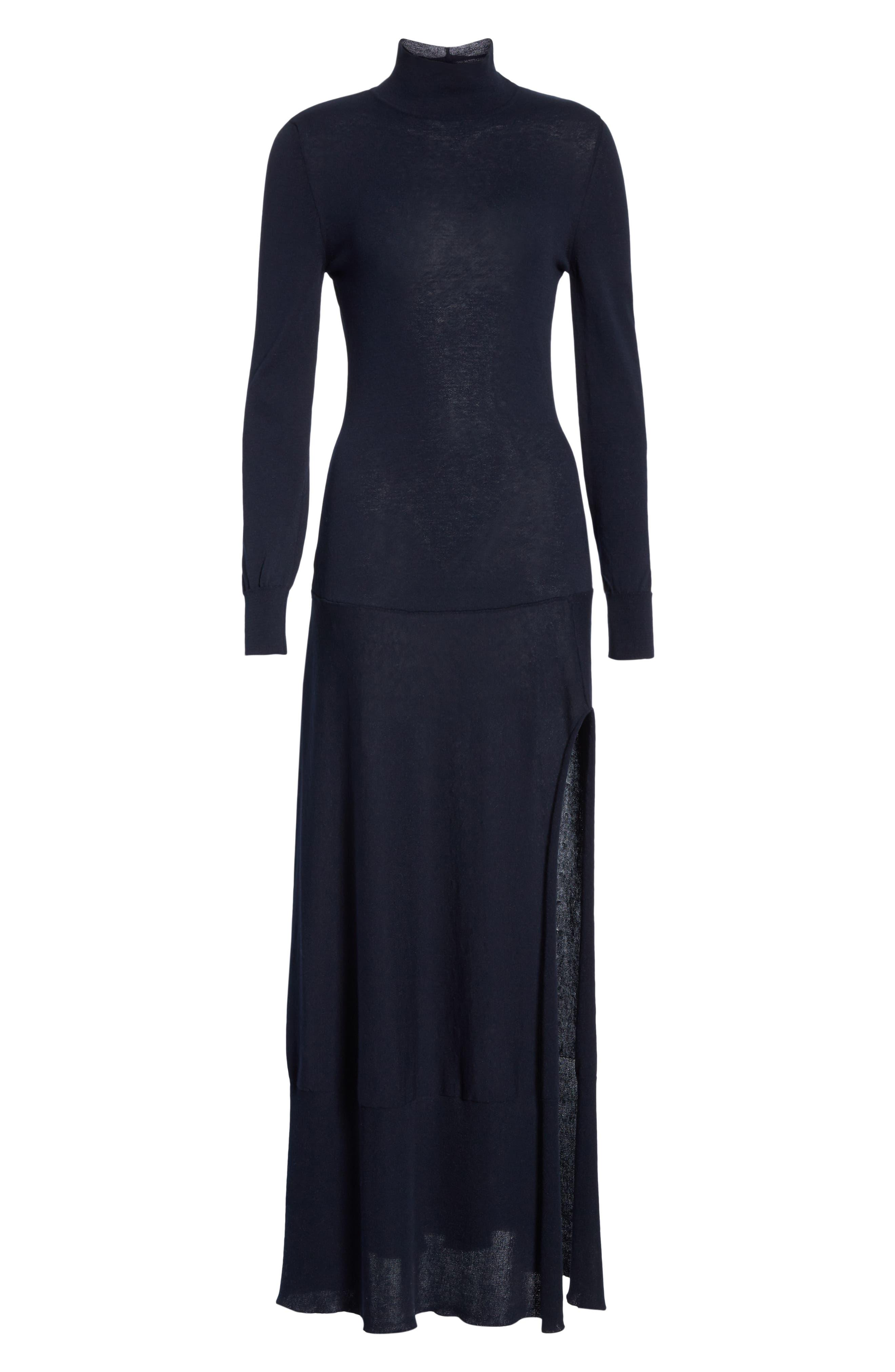 La Robe Baya Knit Dress,                             Alternate thumbnail 6, color,                             400