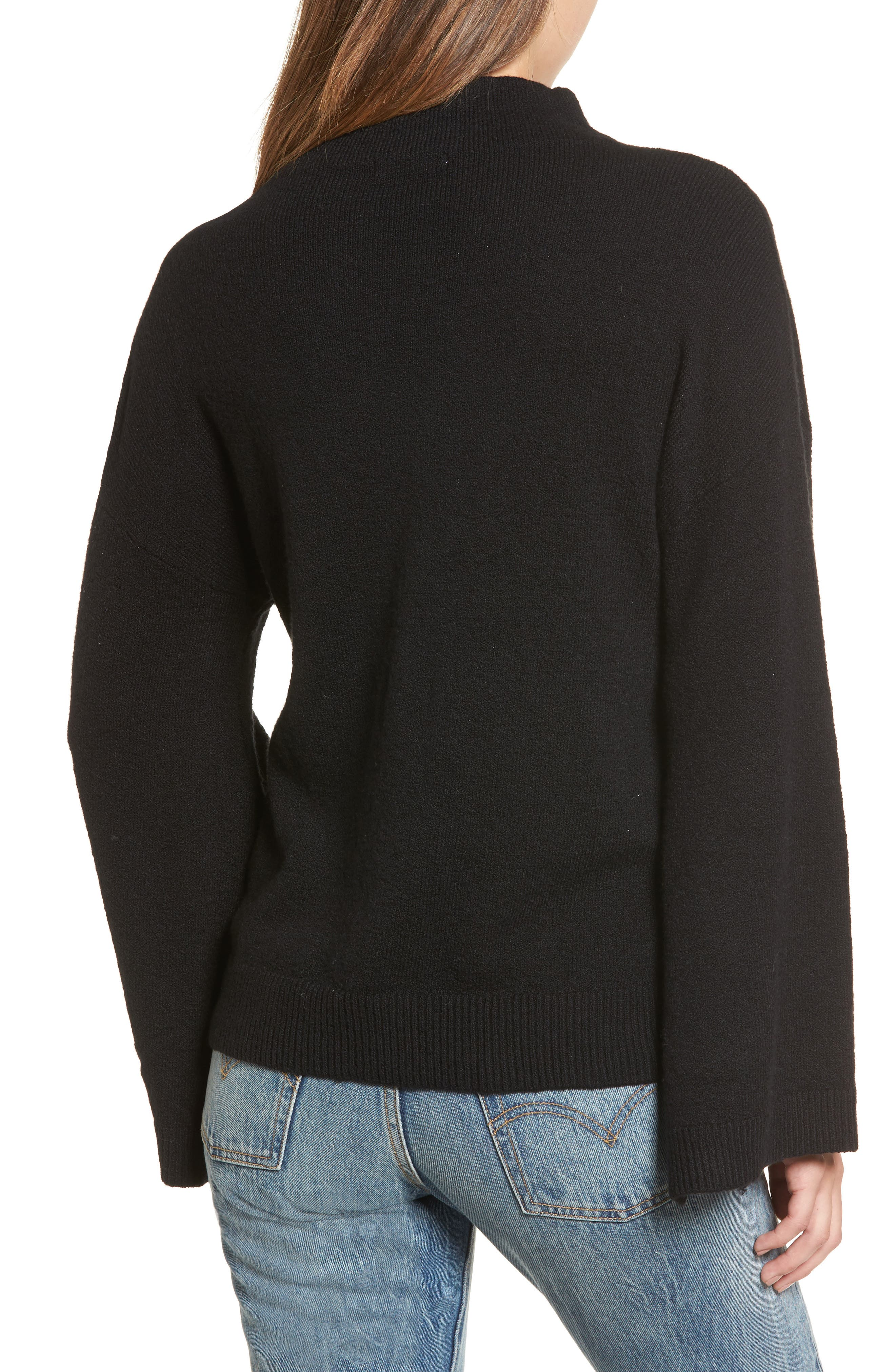 Dolman Sleeve Sweater,                             Alternate thumbnail 2, color,                             001