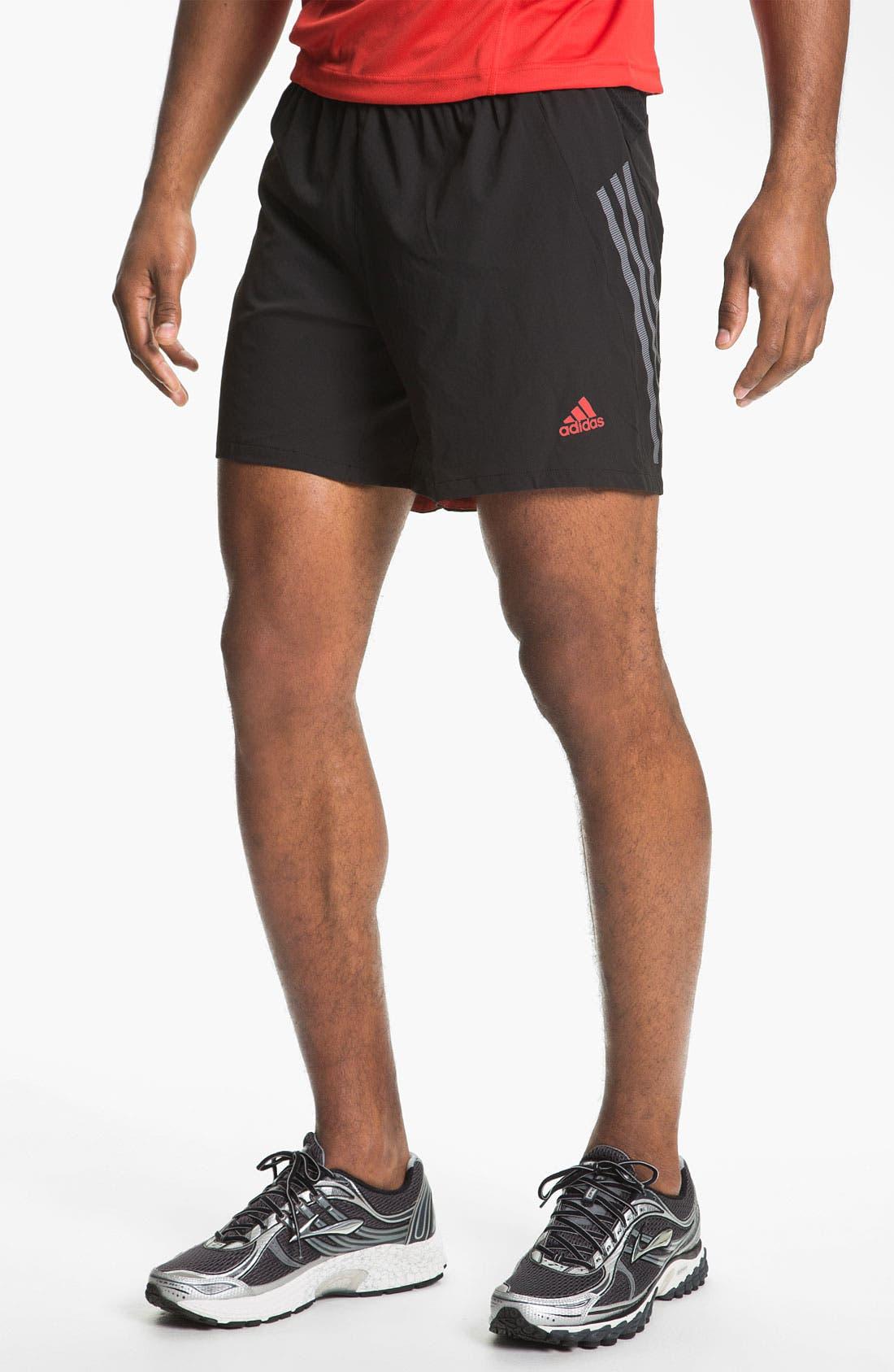 ADIDAS 'Supernova' Shorts, Main, color, 001