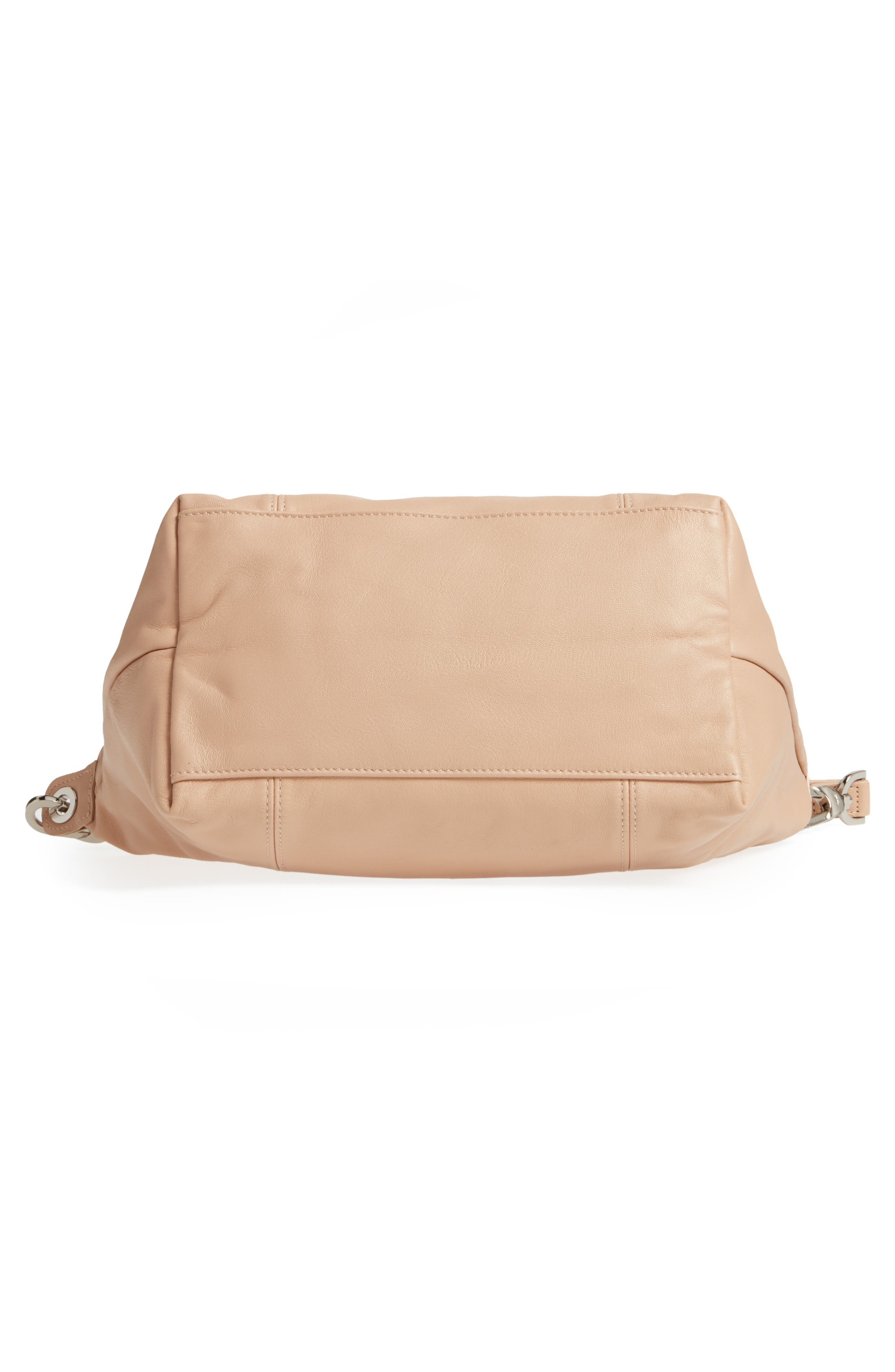 Small 'Le Pliage Cuir' Leather Top Handle Tote,                             Alternate thumbnail 81, color,