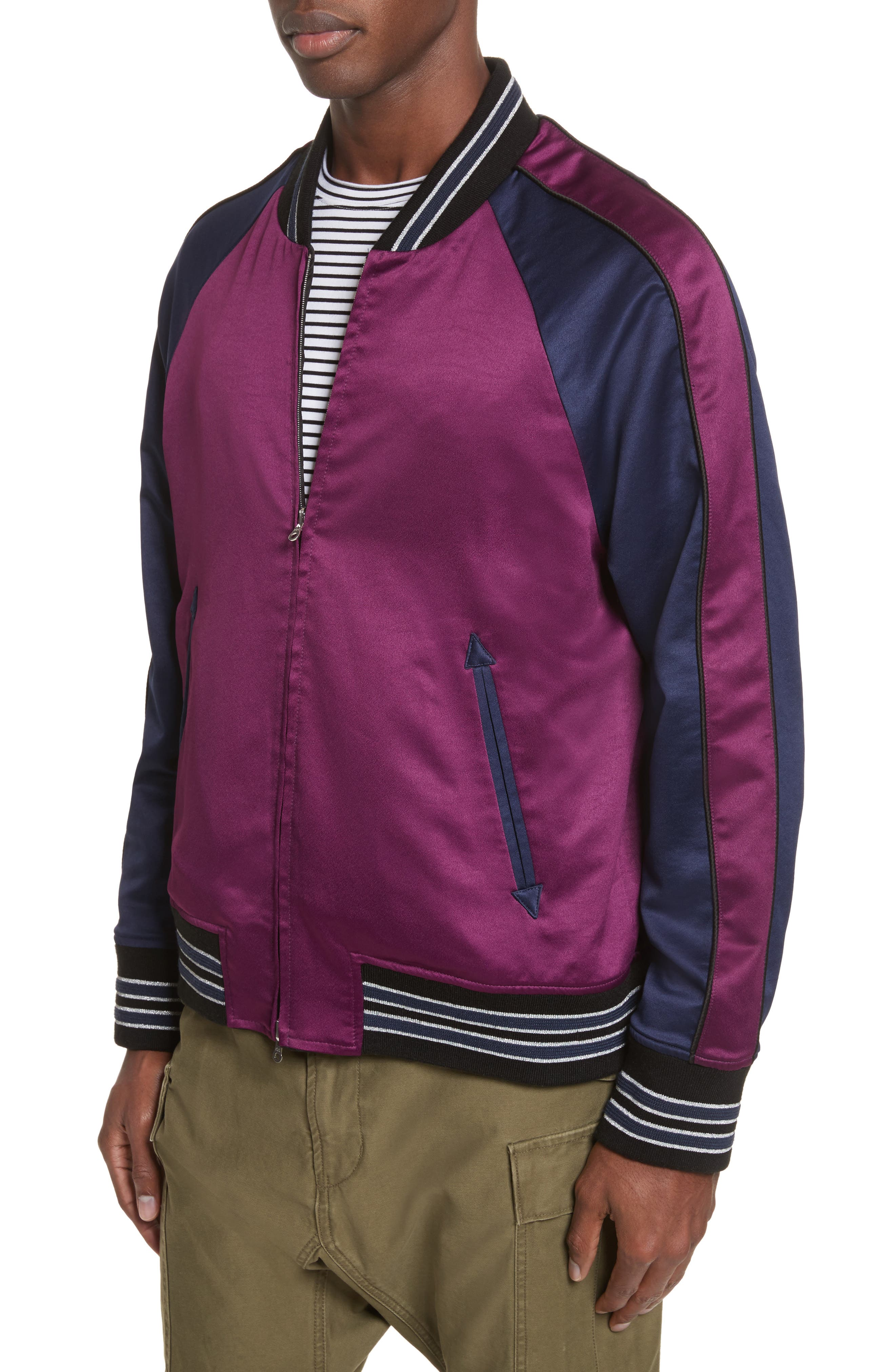 Reversible Souvenir Jacket,                             Alternate thumbnail 4, color,                             017