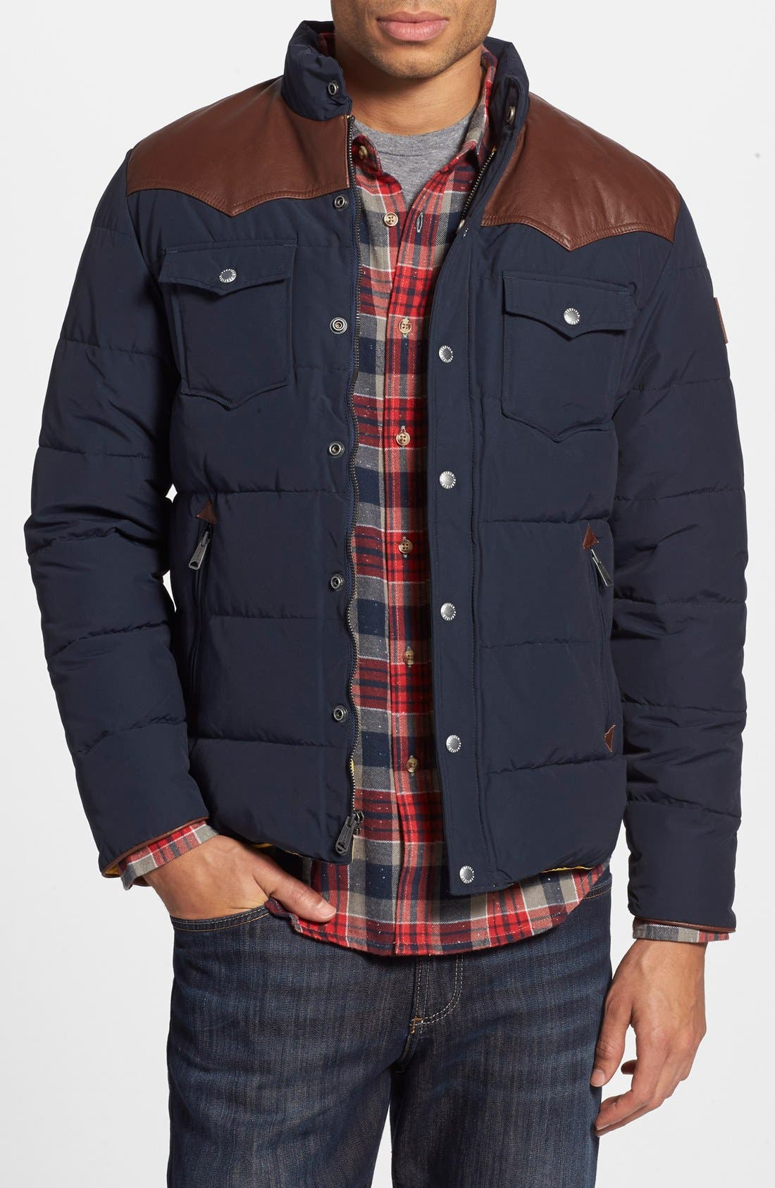 'Stapleton' Down Jacket, Main, color, 410